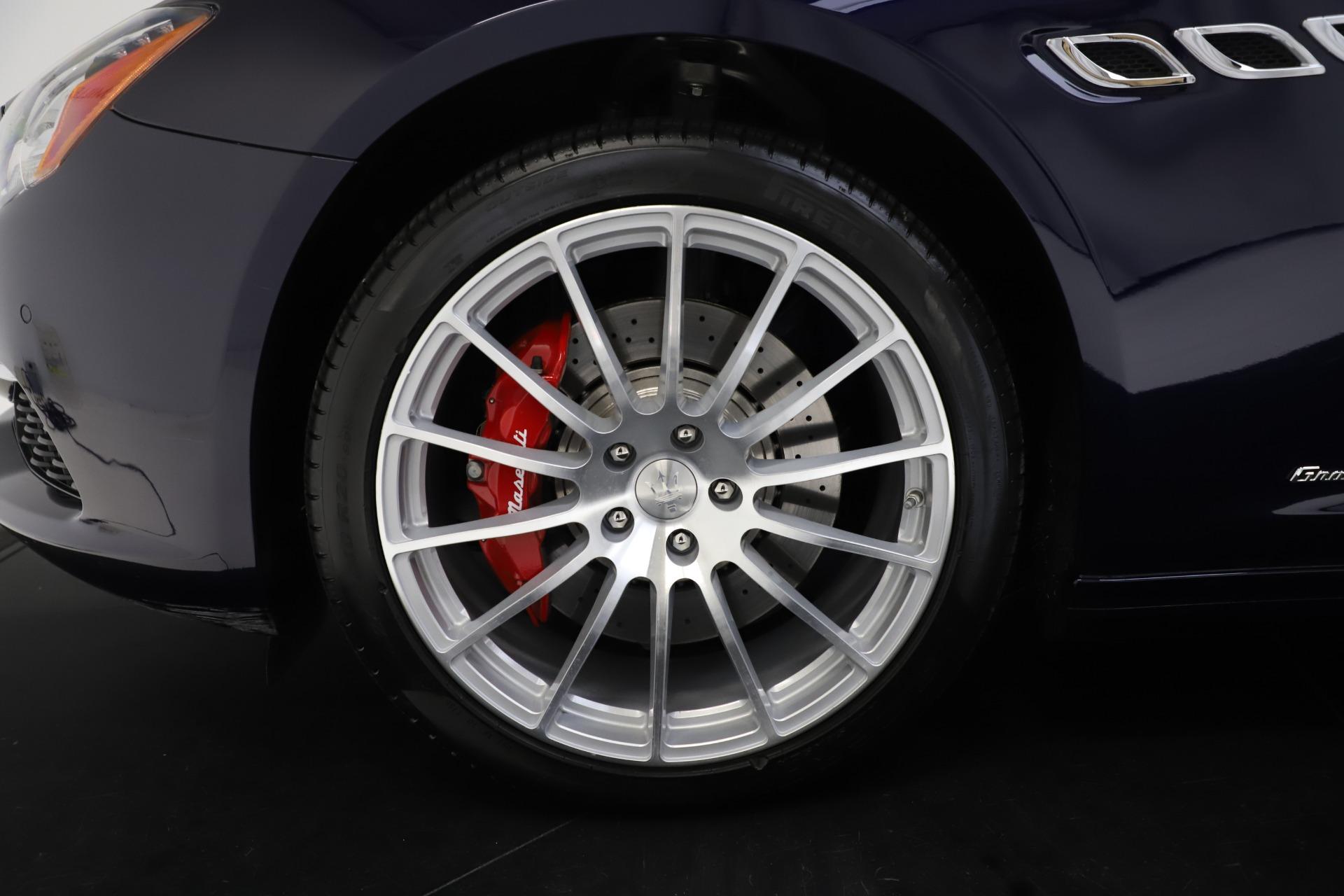 Used 2017 Maserati Quattroporte S Q4 GranLusso For Sale In Greenwich, CT 3553_p32