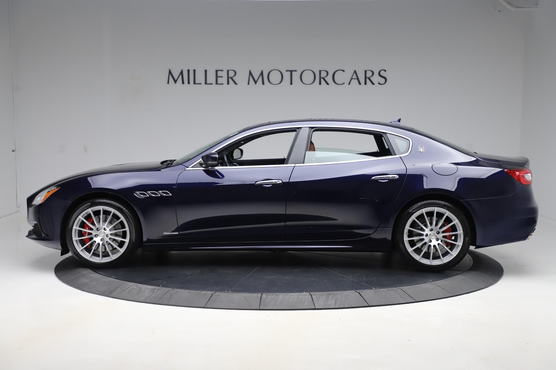 Used 2017 Maserati Quattroporte S Q4 GranLusso For Sale In Greenwich, CT 3553_p3