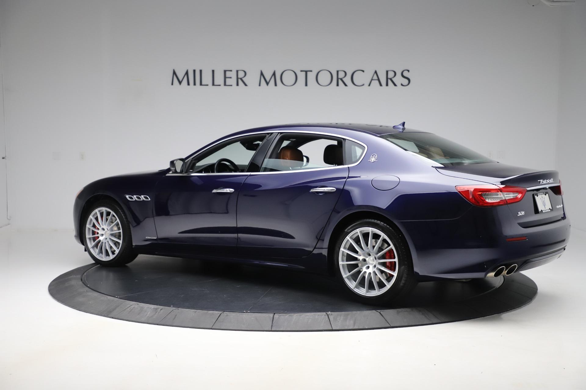 Used 2017 Maserati Quattroporte S Q4 GranLusso For Sale In Greenwich, CT 3553_p4