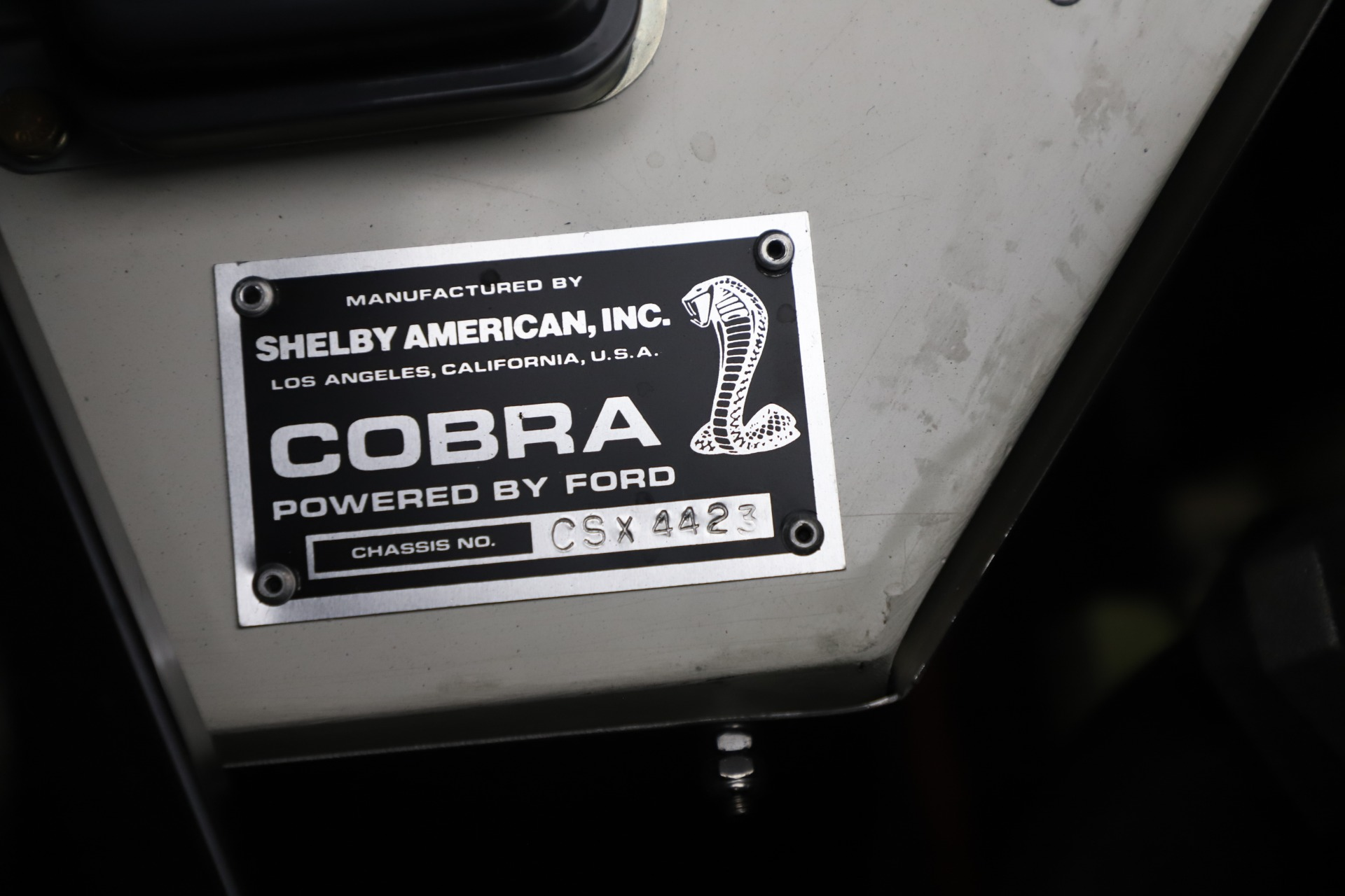 Used 1965 Ford Cobra CSX For Sale In Greenwich, CT 3558_p14