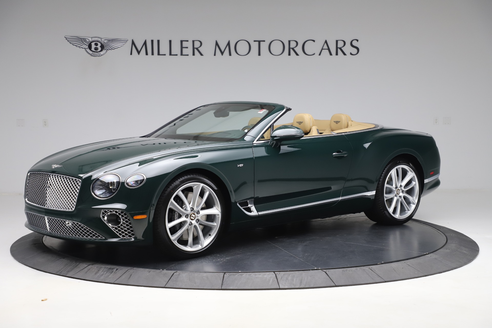 New 2020 Bentley Continental GTC V8 For Sale In Greenwich, CT 3572_p2