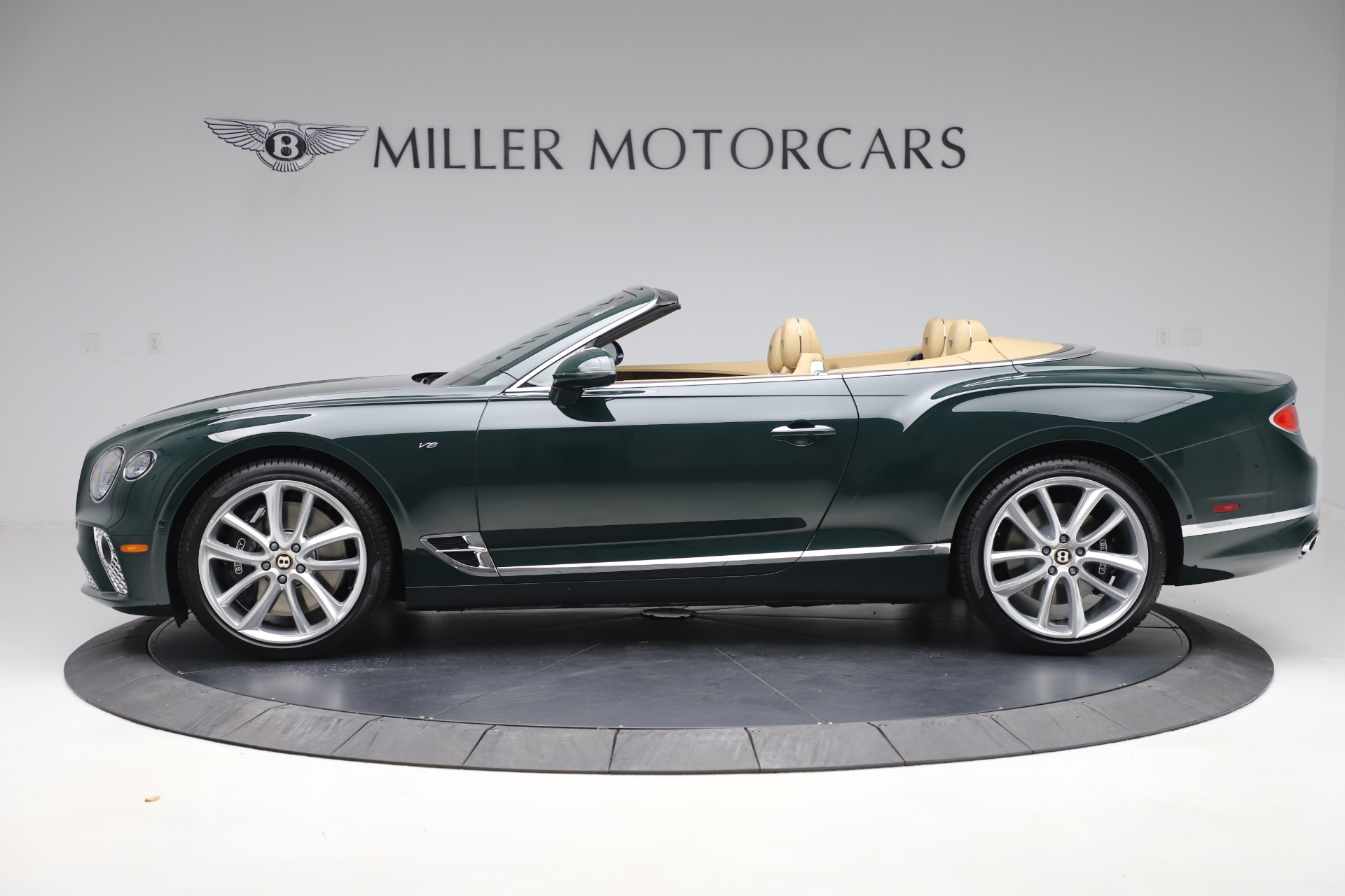 New 2020 Bentley Continental GTC V8 For Sale In Greenwich, CT 3572_p3