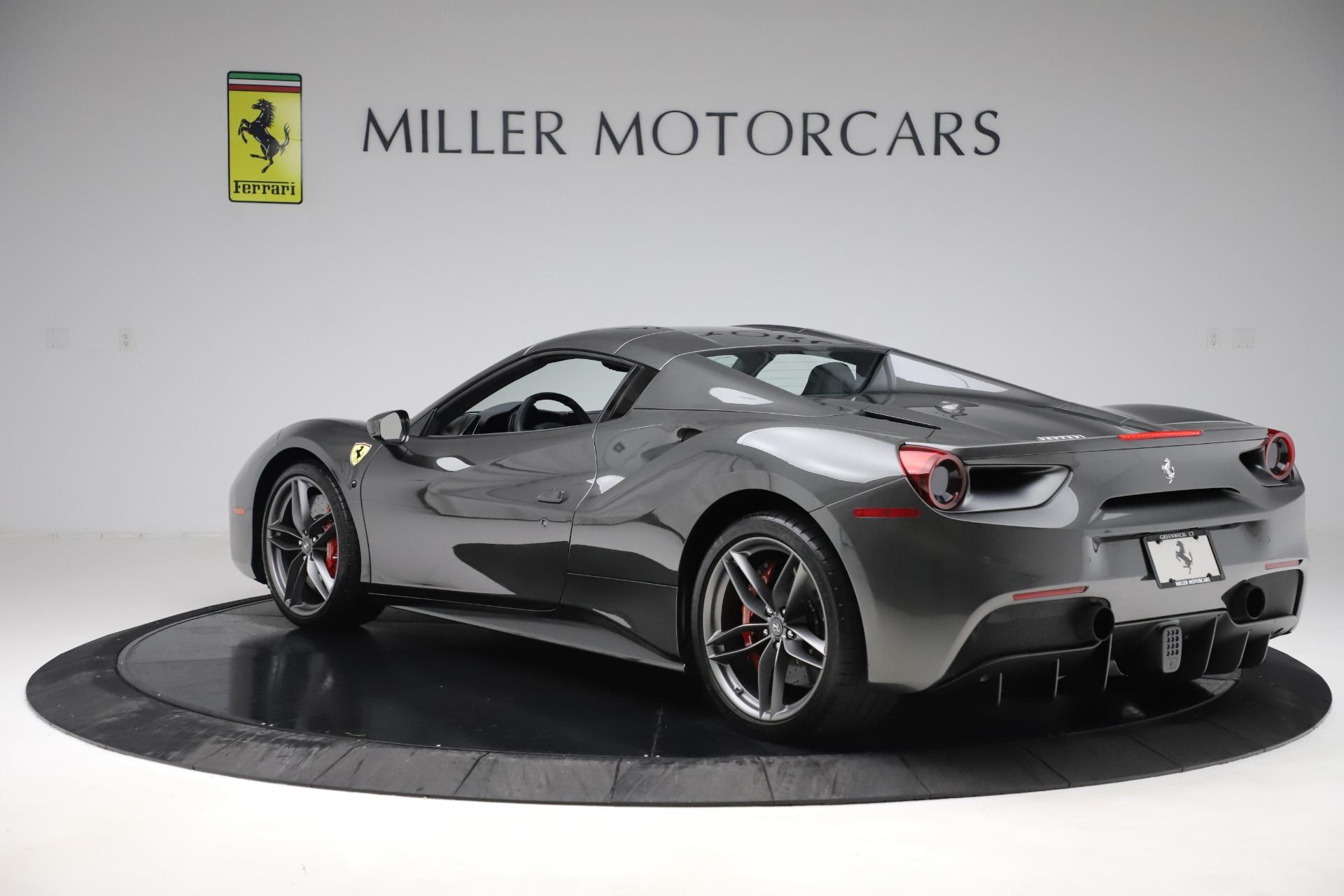 Used 2018 Ferrari 488 Spider  For Sale In Greenwich, CT 3584_p15