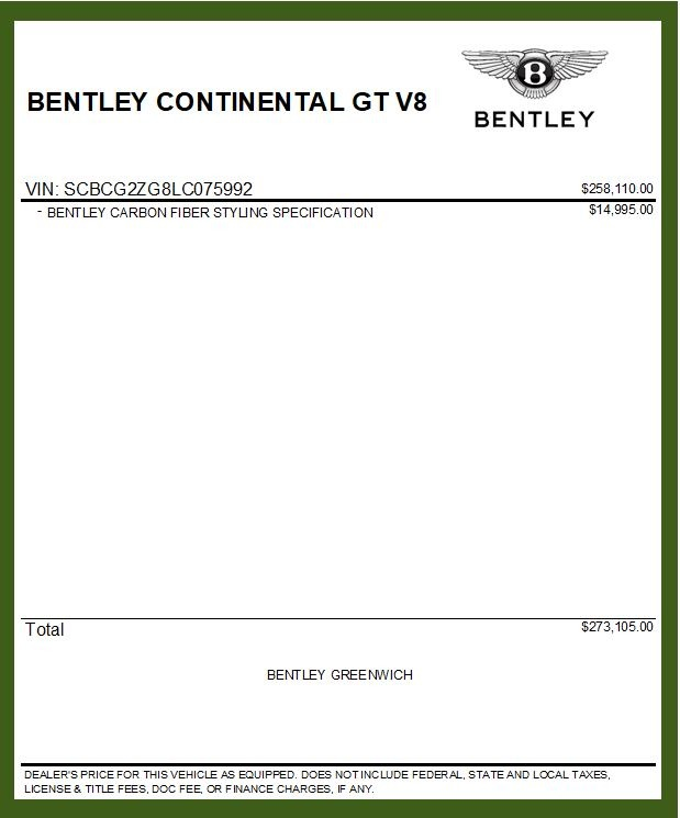 New 2020 Bentley Continental GT V8 For Sale In Greenwich, CT 3590_p37