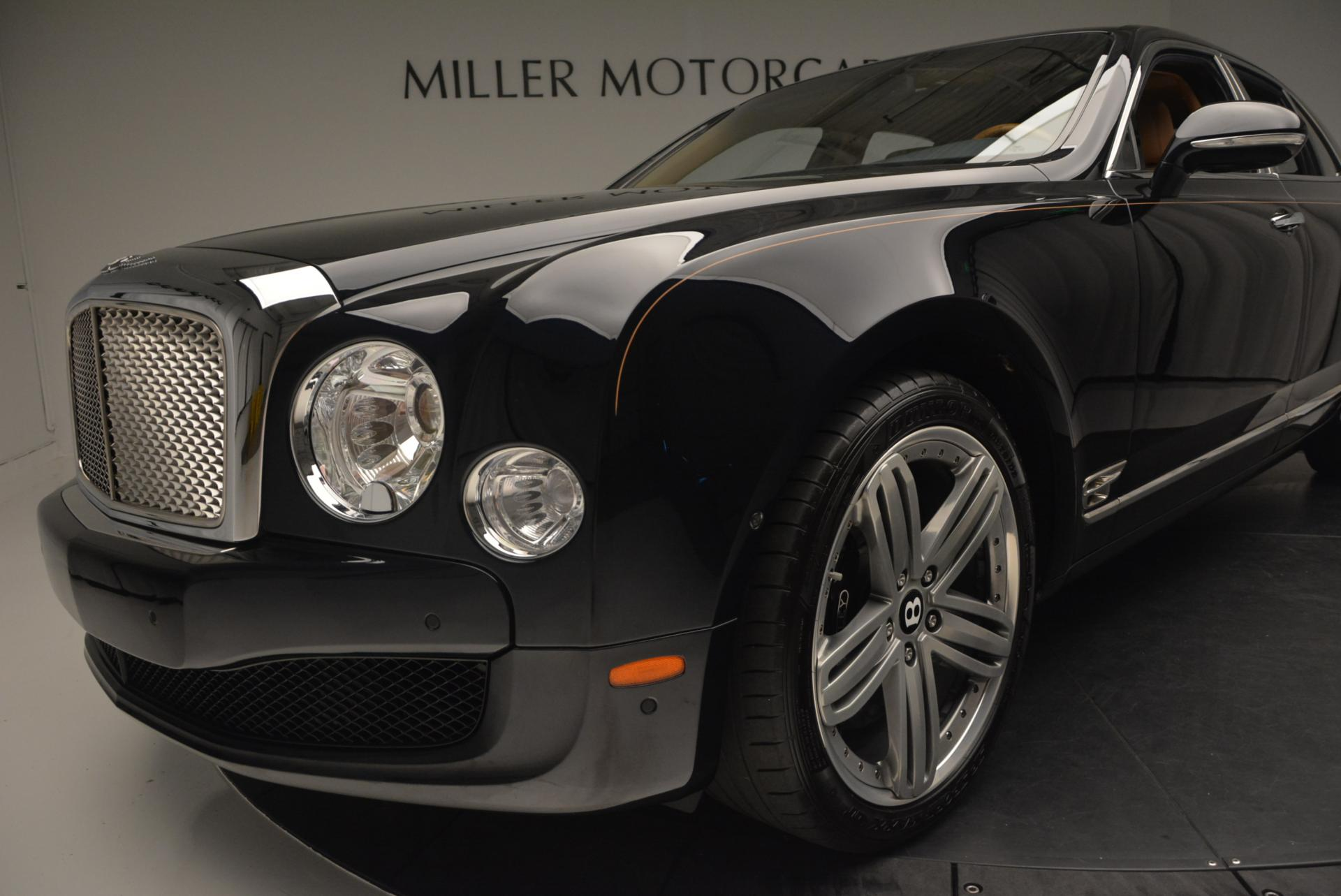 Used 2013 Bentley Mulsanne Le Mans Edition- Number 1 of 48 For Sale In Greenwich, CT 40_p15