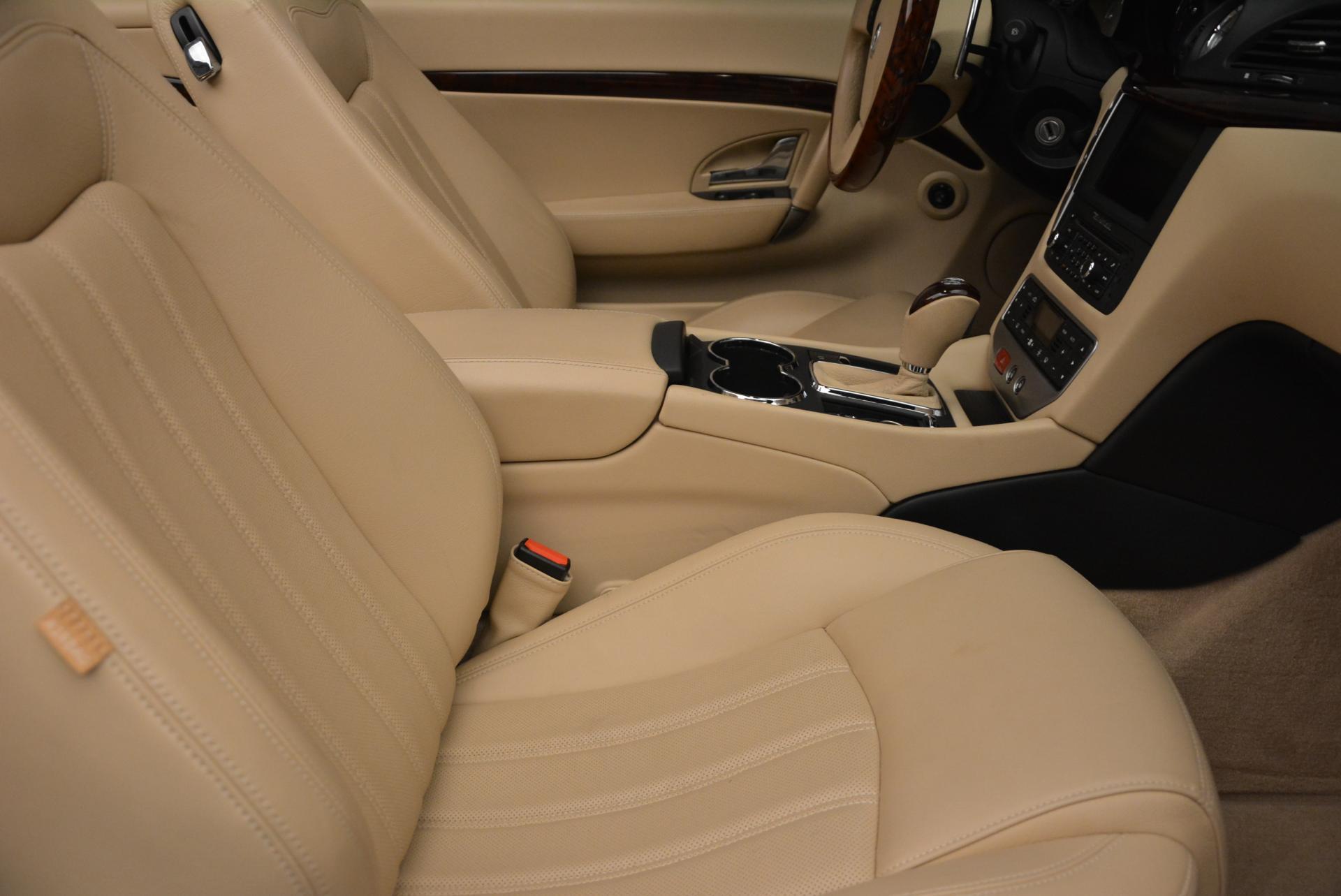 Used 2011 Maserati GranTurismo  For Sale In Greenwich, CT 45_p32