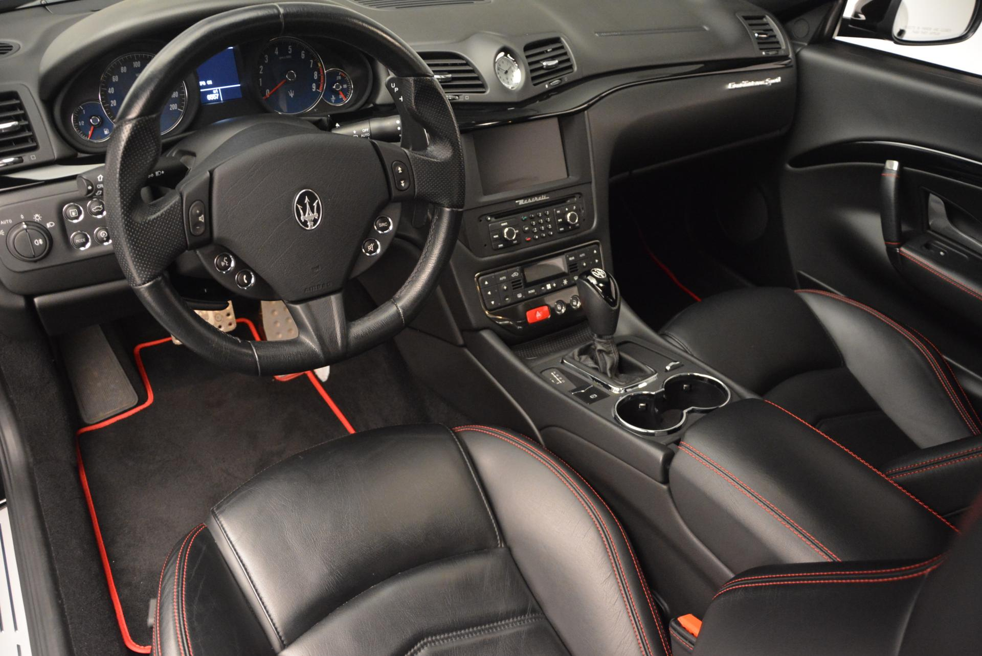 Used 2013 Maserati GranTurismo Sport For Sale In Greenwich, CT 46_p13