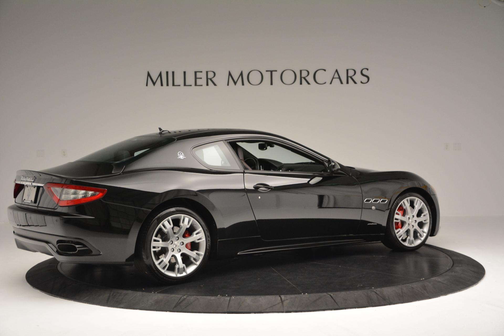 Used 2013 Maserati GranTurismo Sport For Sale In Greenwich, CT 46_p8