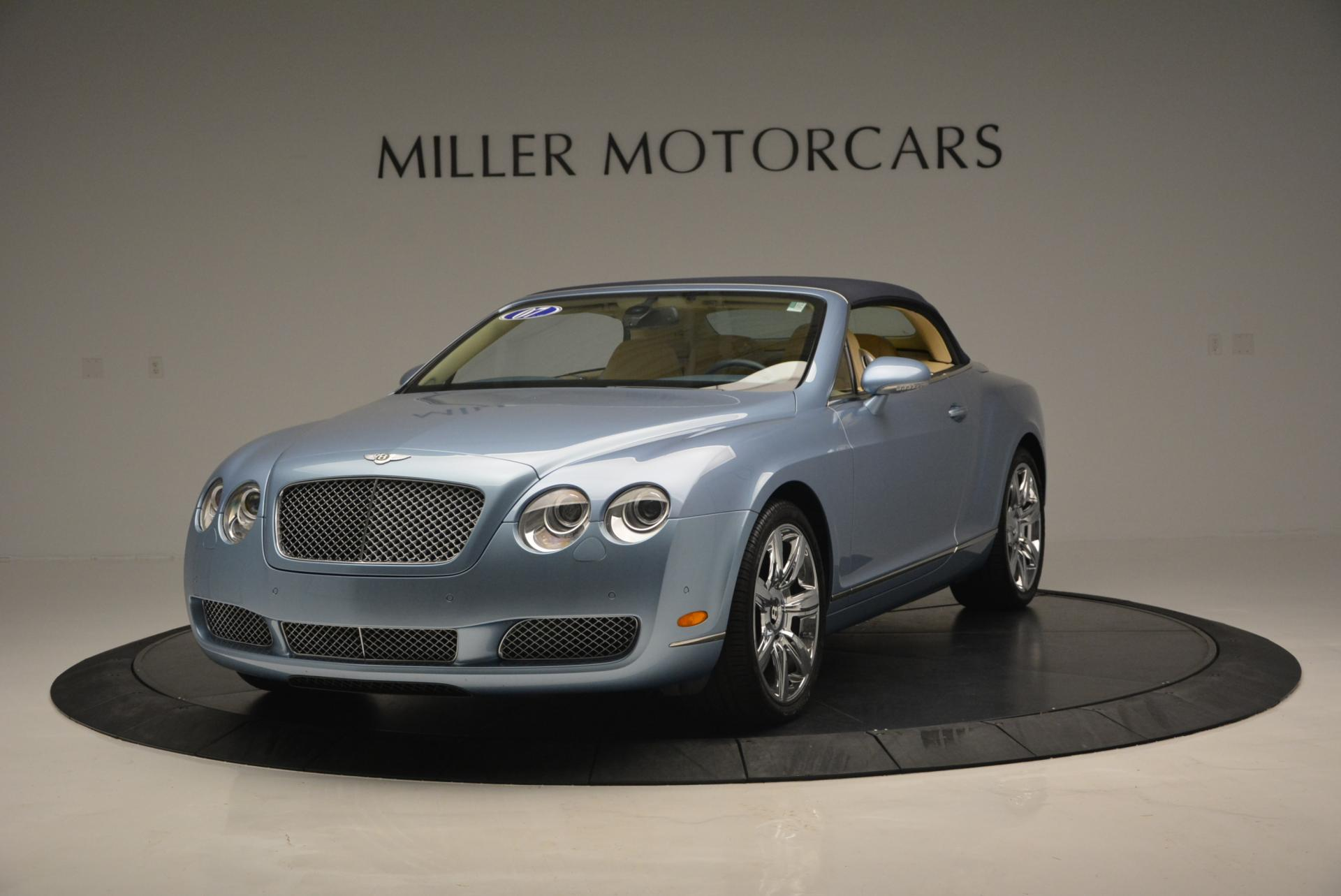 Used 2007 Bentley Continental GTC  For Sale In Greenwich, CT 495_p13