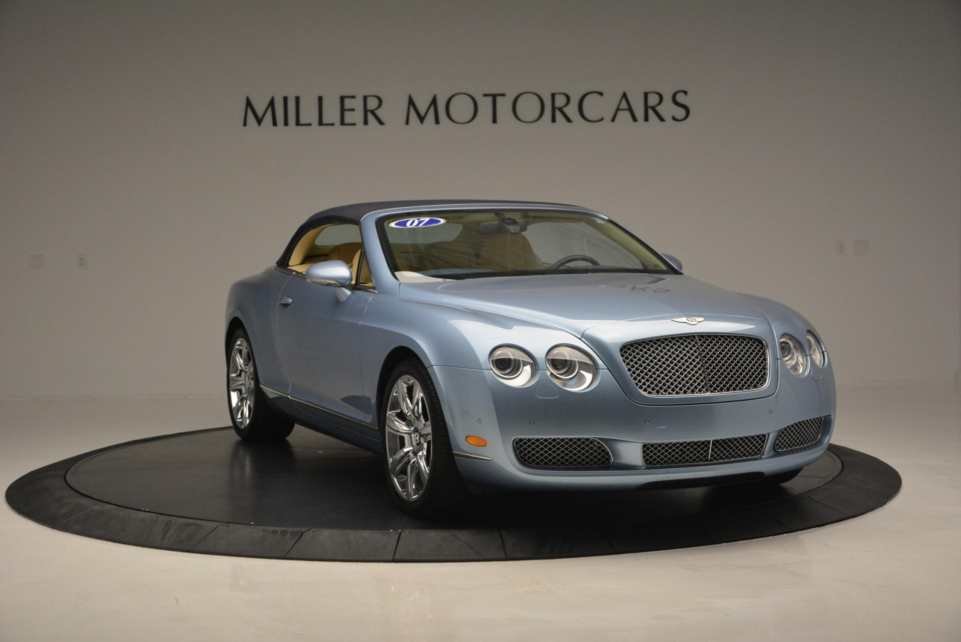 Used 2007 Bentley Continental GTC  For Sale In Greenwich, CT 495_p23