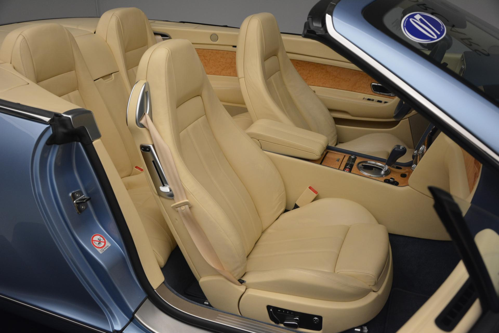 Used 2007 Bentley Continental GTC  For Sale In Greenwich, CT 495_p48