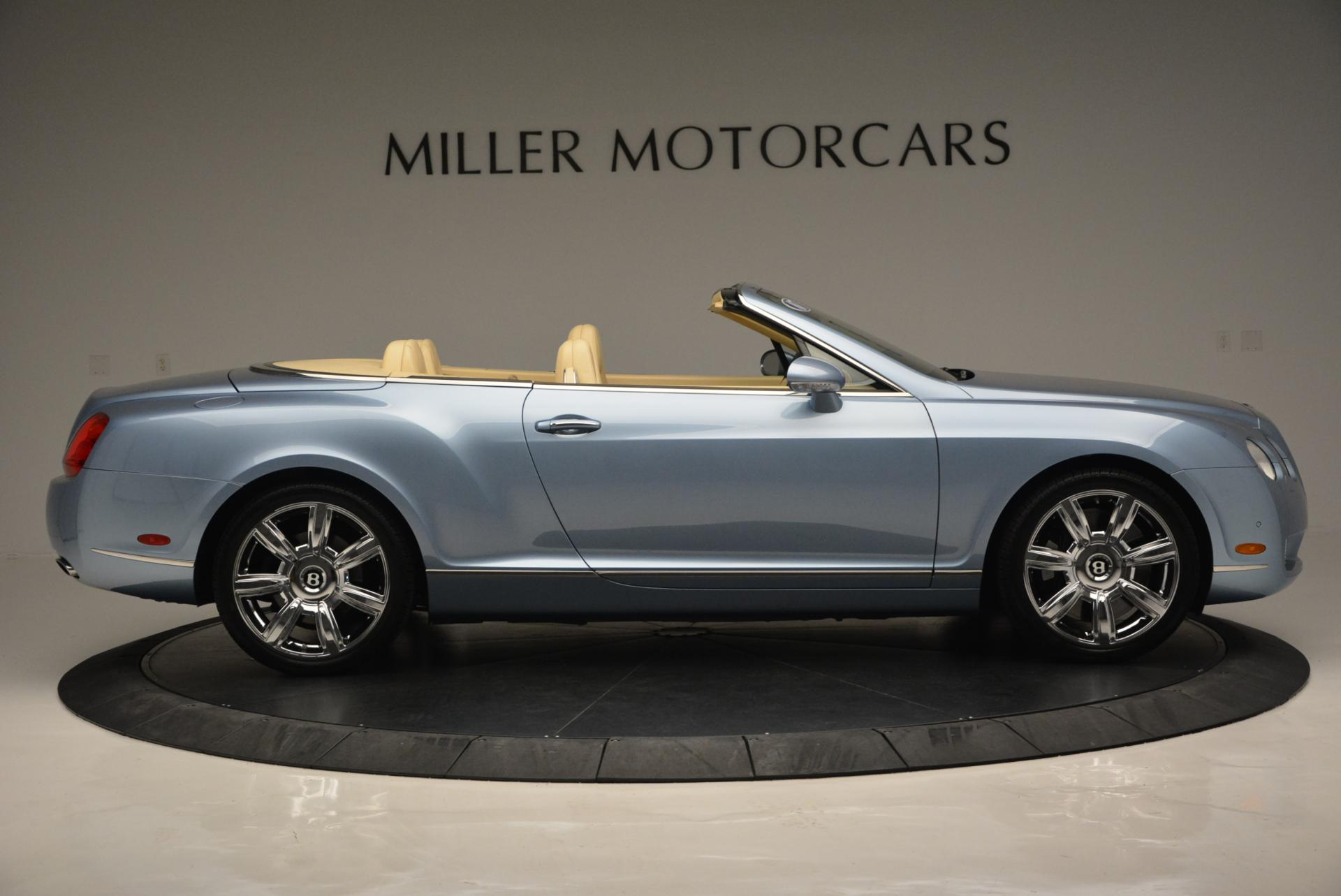 Used 2007 Bentley Continental GTC  For Sale In Greenwich, CT 495_p9