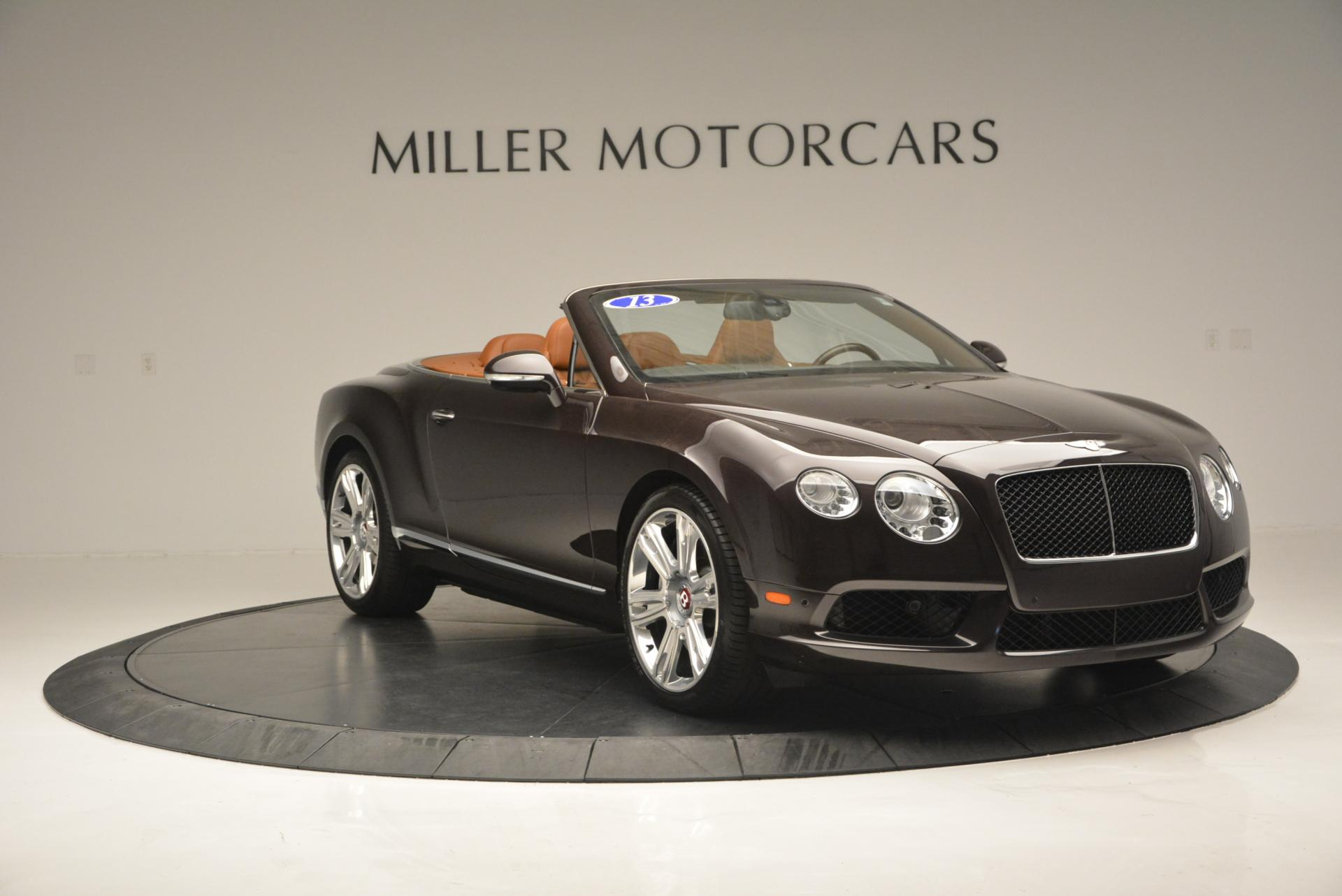 Used 2013 Bentley Continental GTC V8  For Sale In Greenwich, CT 498_p11
