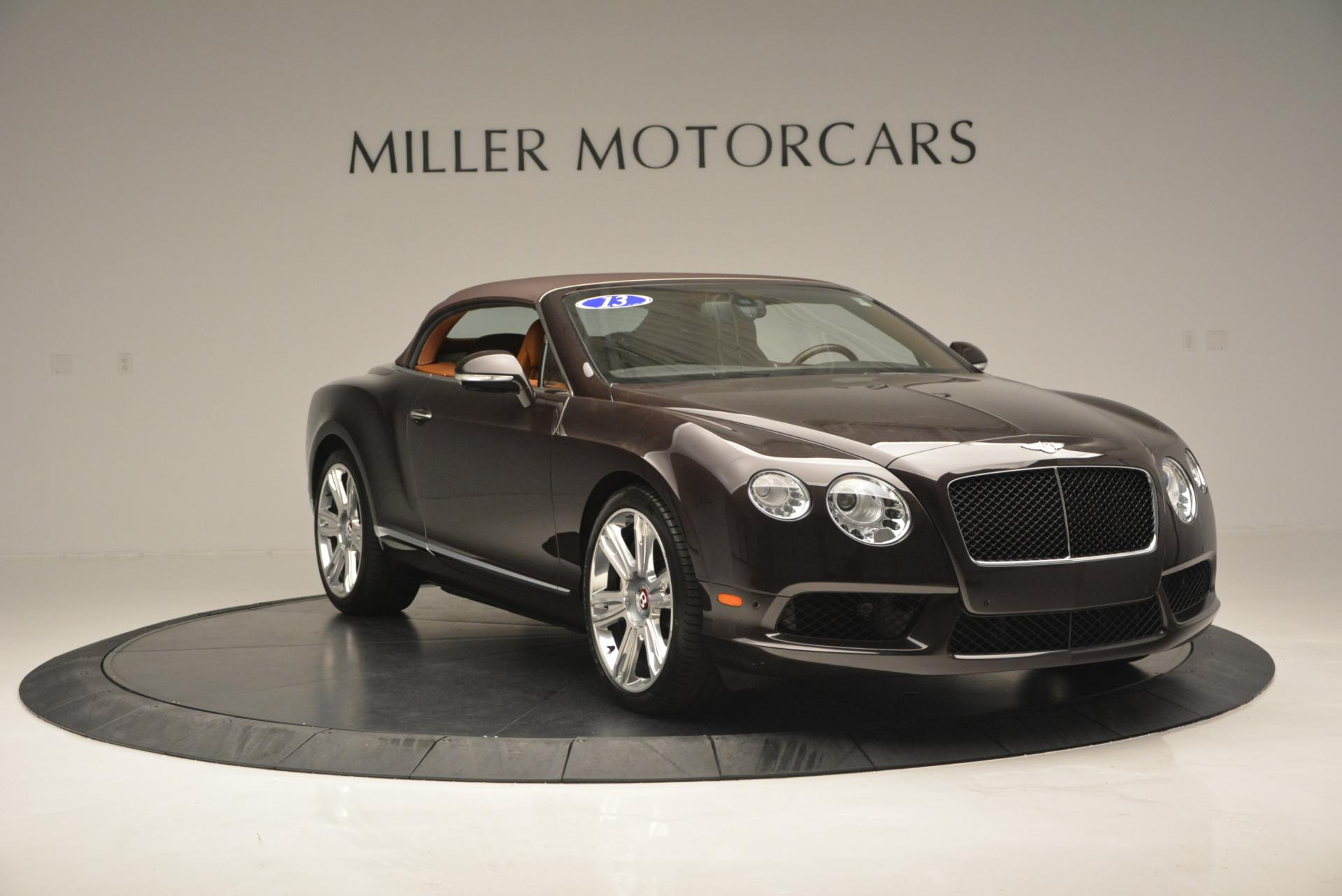 Used 2013 Bentley Continental GTC V8  For Sale In Greenwich, CT 498_p24