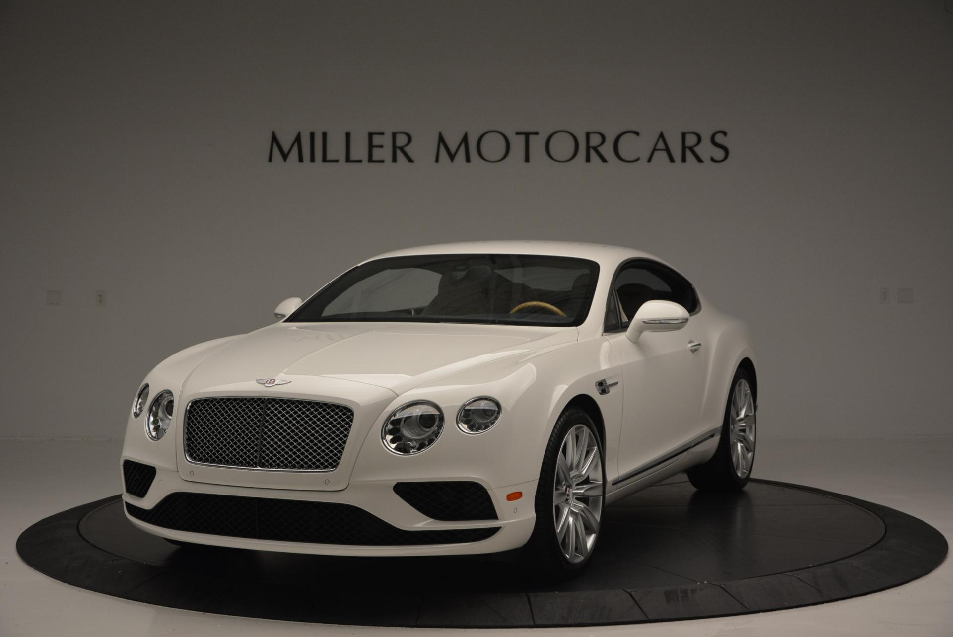 New 2016 Bentley Continental GT V8 For Sale In Greenwich, CT 502_main