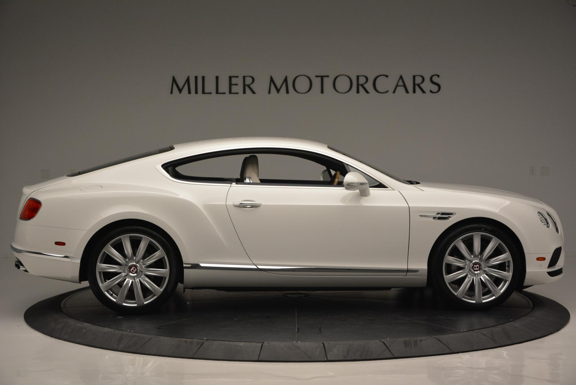 New 2016 Bentley Continental GT V8 For Sale In Greenwich, CT 502_p9