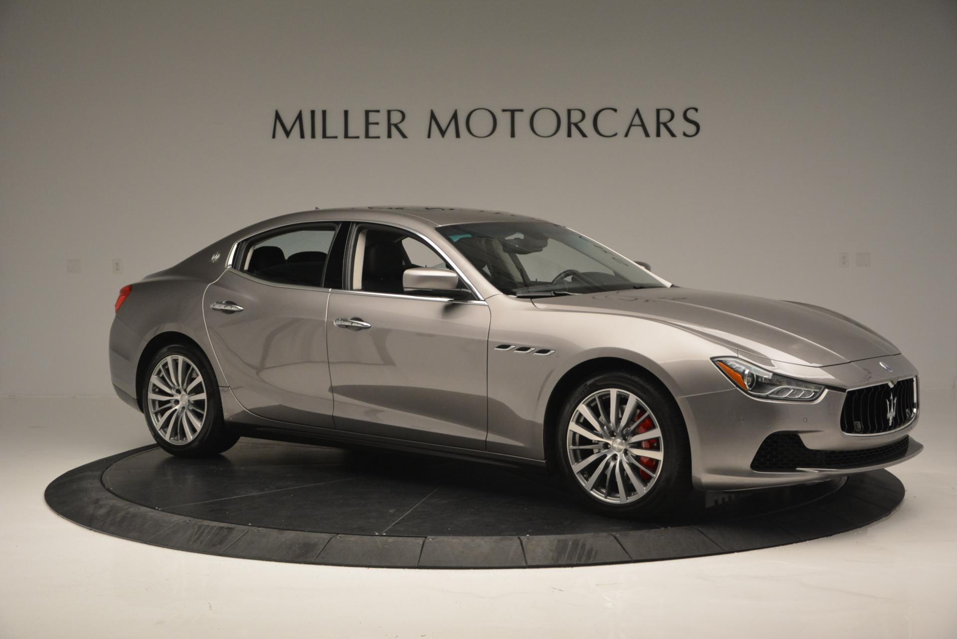 New 2016 Maserati Ghibli S Q4 For Sale In Greenwich, CT 51_p10