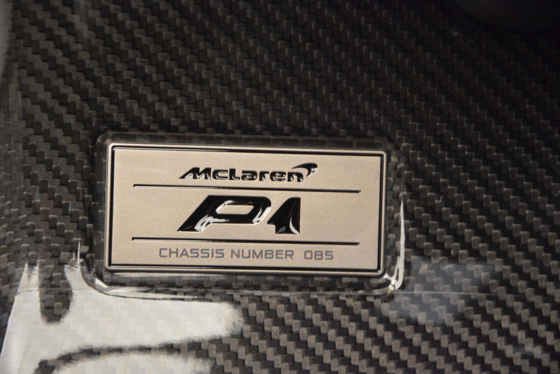 Used 2014 McLaren P1 Coupe For Sale In Greenwich, CT 513_p19