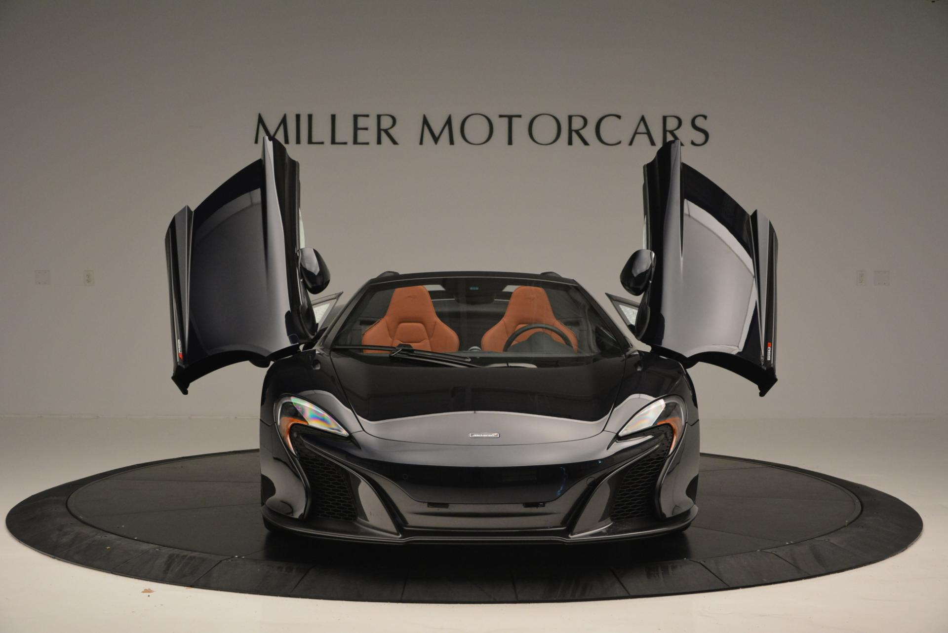 Used 2015 McLaren 650S Spider  For Sale In Greenwich, CT 518_p12