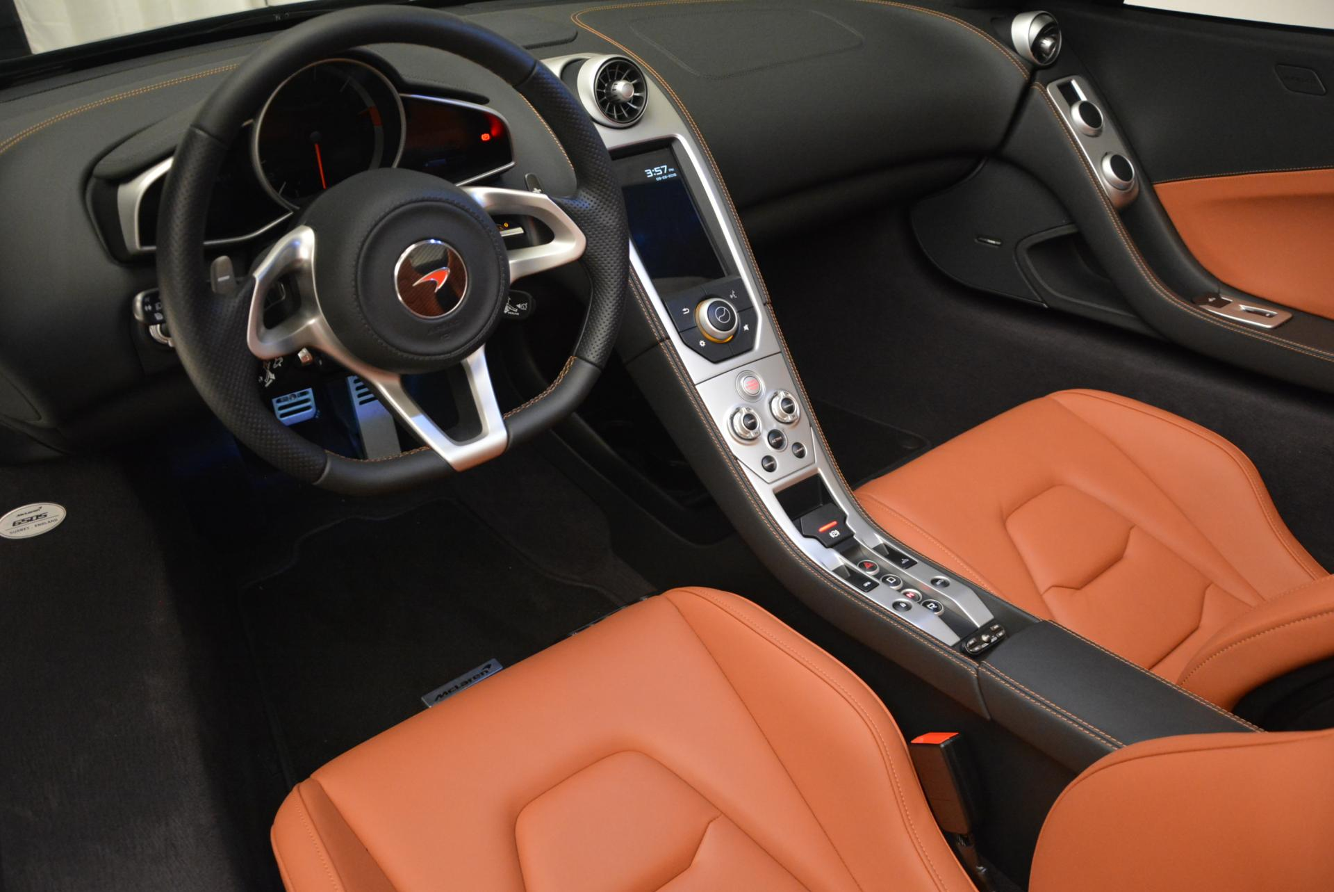 Used 2015 McLaren 650S Spider  For Sale In Greenwich, CT 518_p26