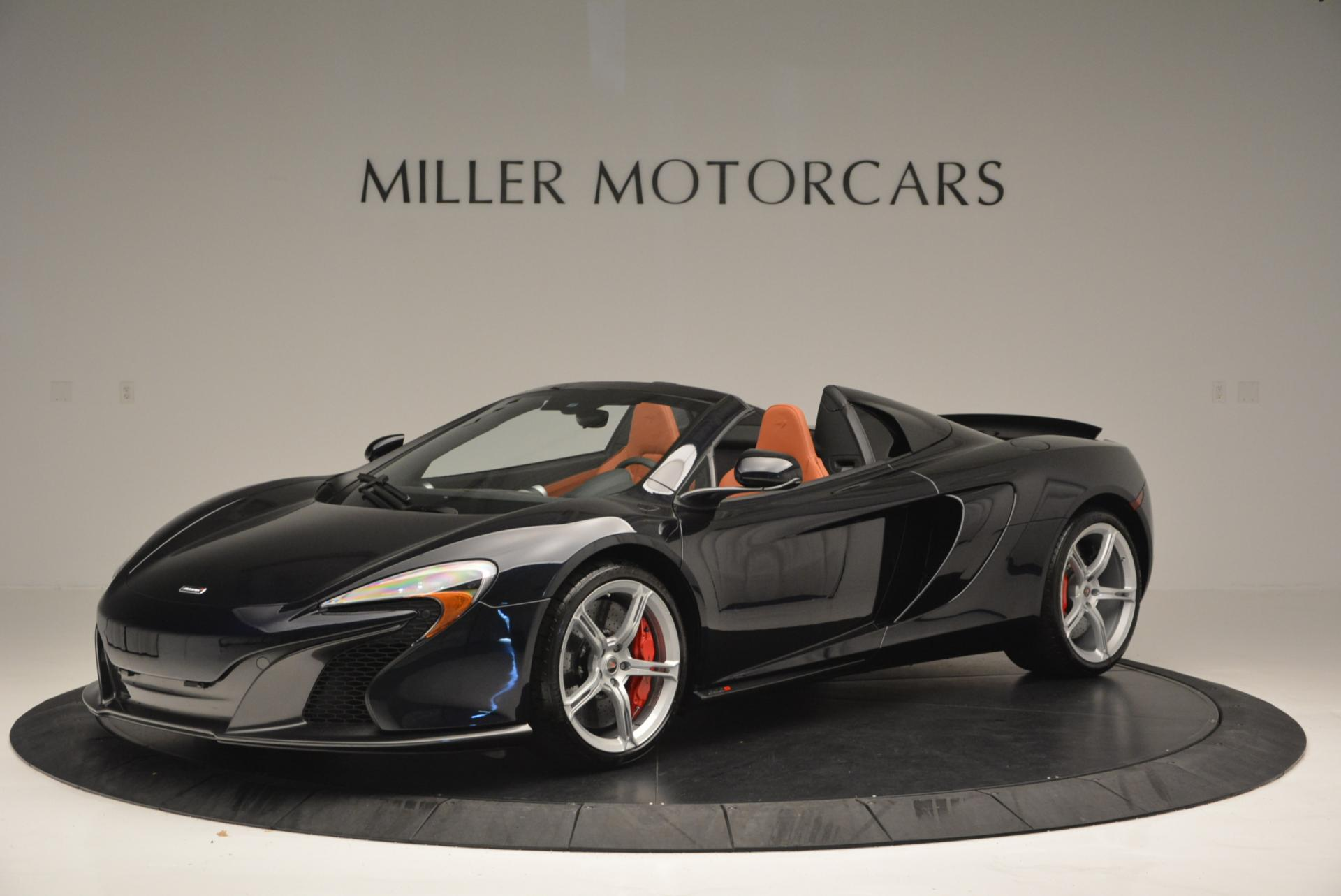 Used 2015 McLaren 650S Spider  For Sale In Greenwich, CT 518_p2