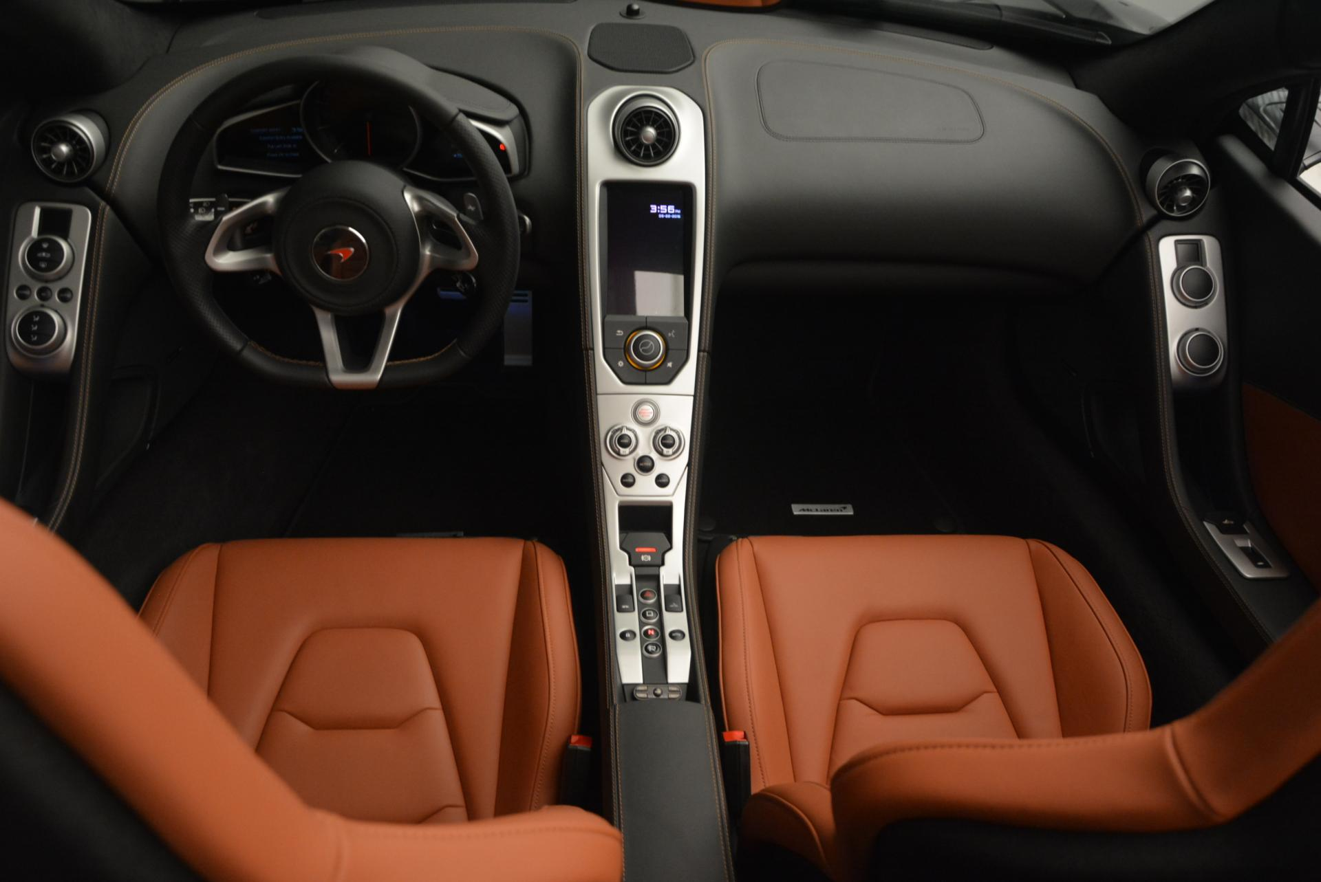 Used 2015 McLaren 650S Spider  For Sale In Greenwich, CT 518_p30