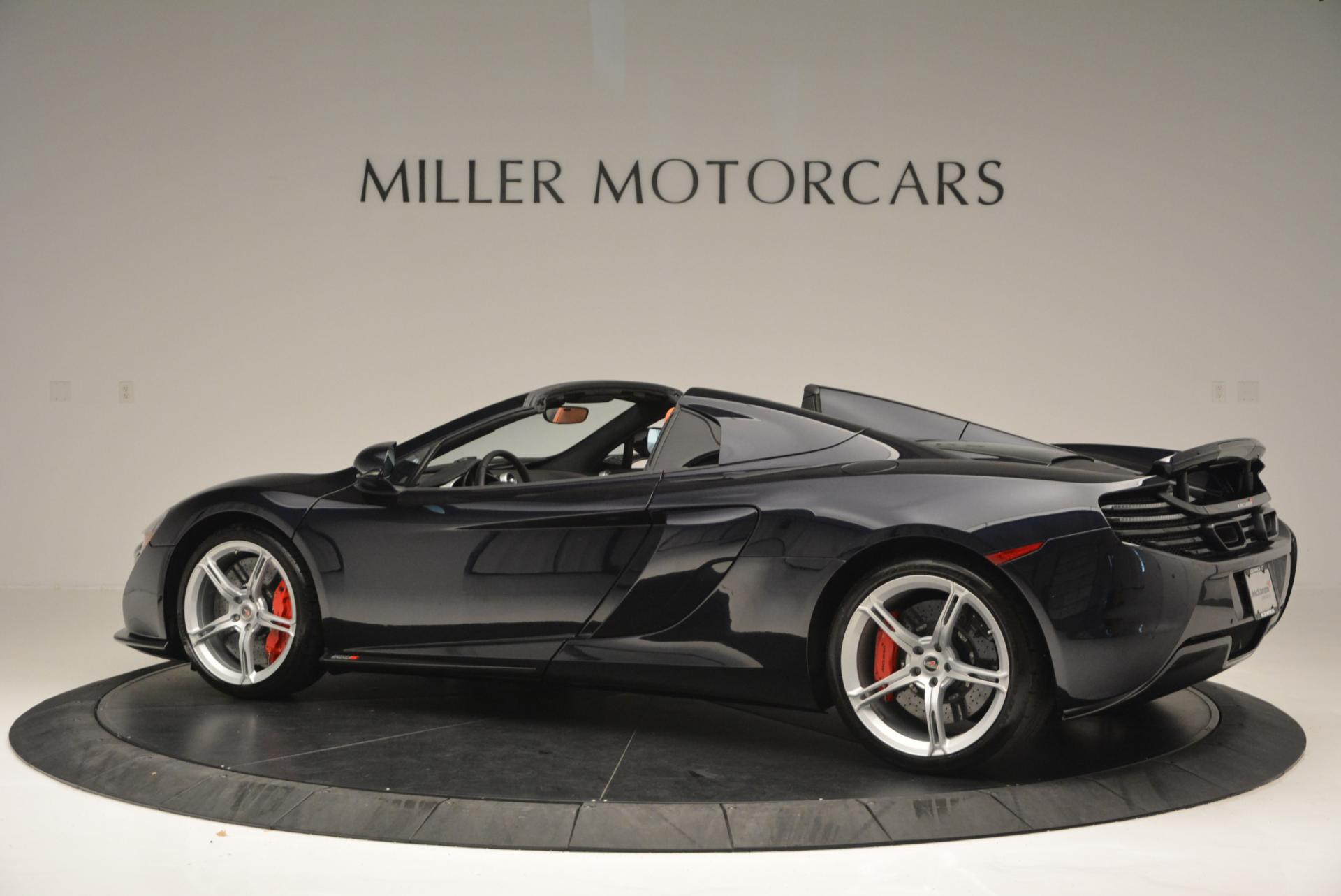 Used 2015 McLaren 650S Spider  For Sale In Greenwich, CT 518_p4