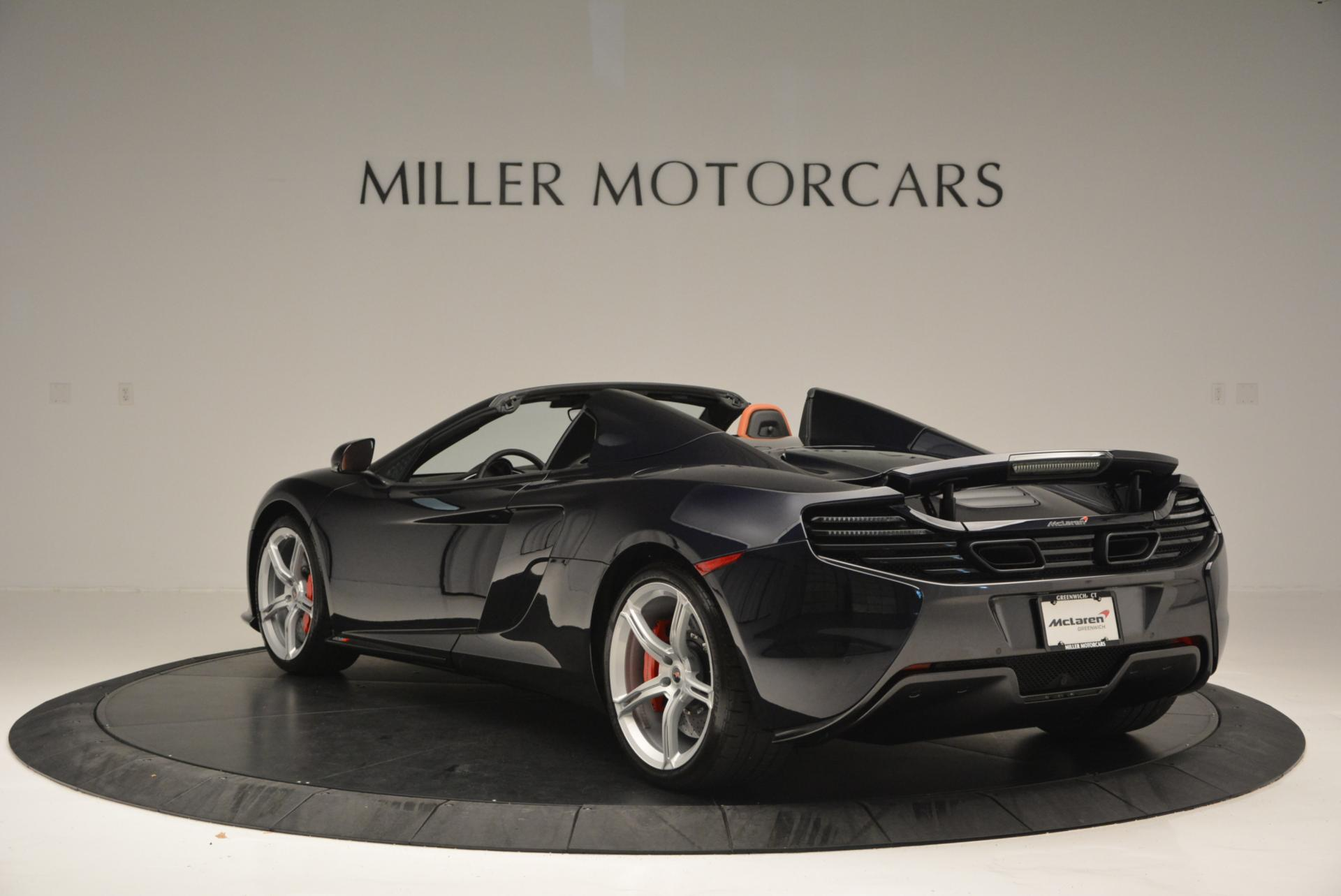 Used 2015 McLaren 650S Spider  For Sale In Greenwich, CT 518_p5