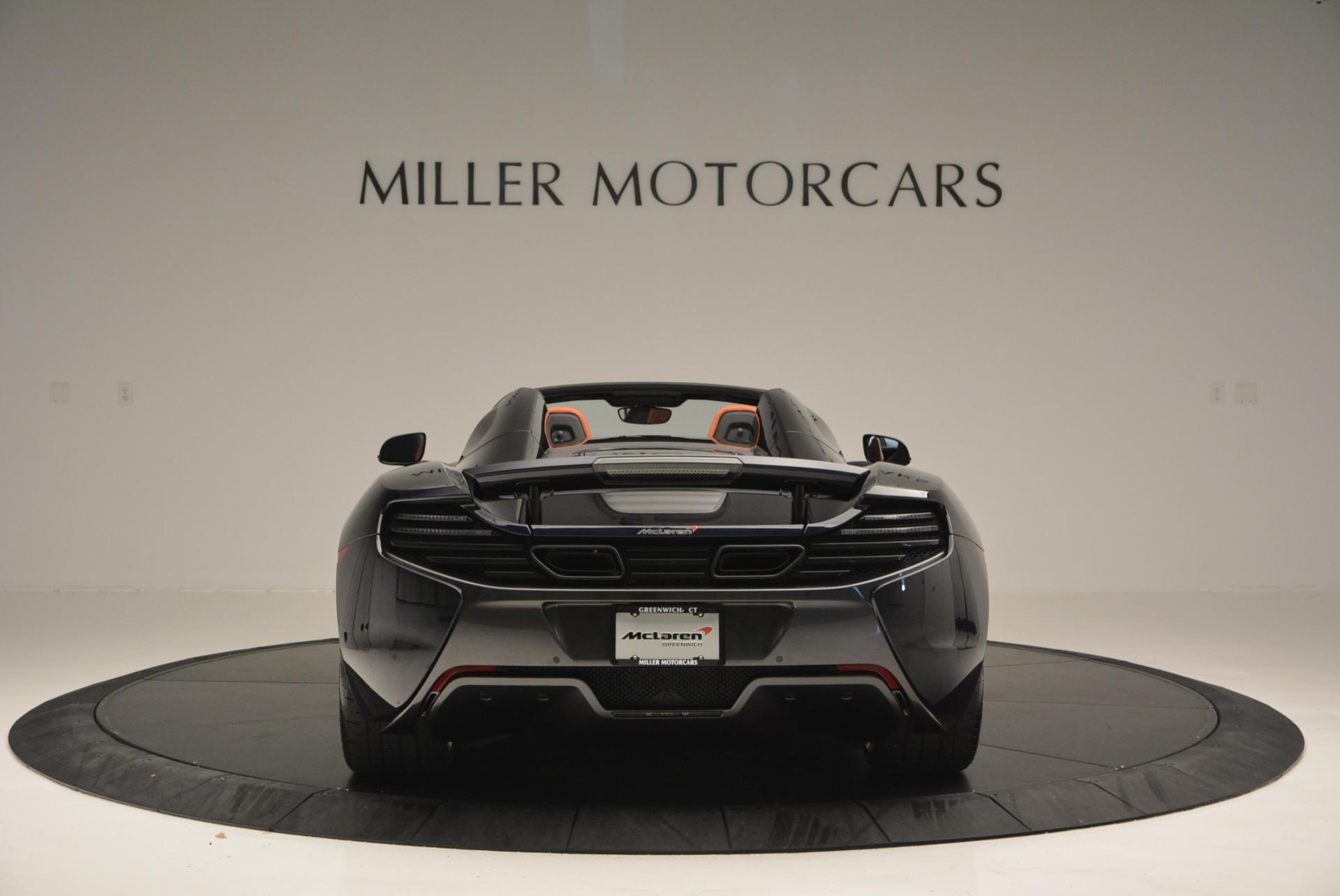 Used 2015 McLaren 650S Spider  For Sale In Greenwich, CT 518_p6