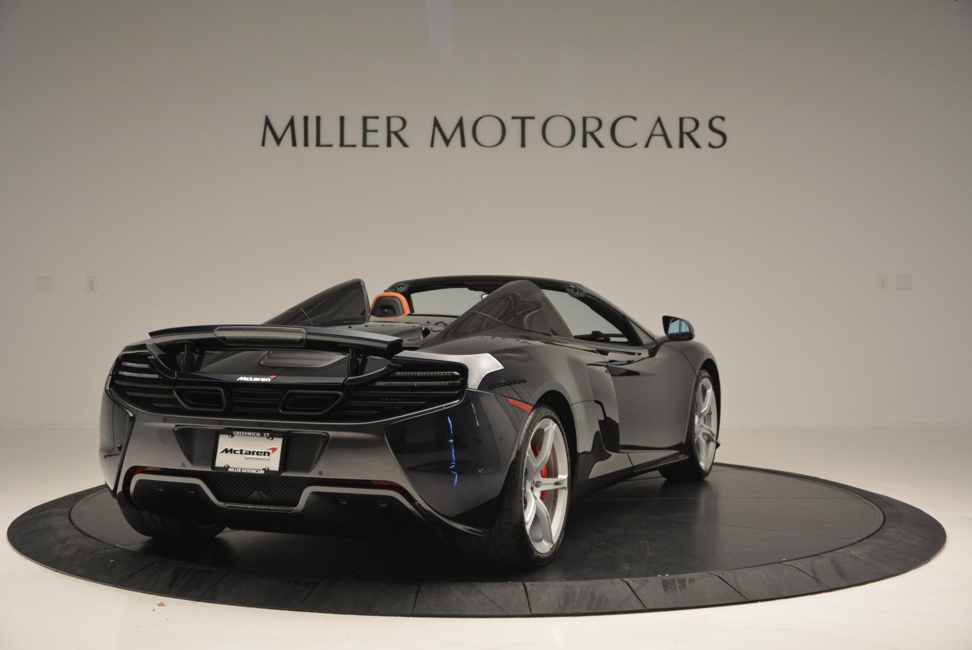 Used 2015 McLaren 650S Spider  For Sale In Greenwich, CT 518_p7