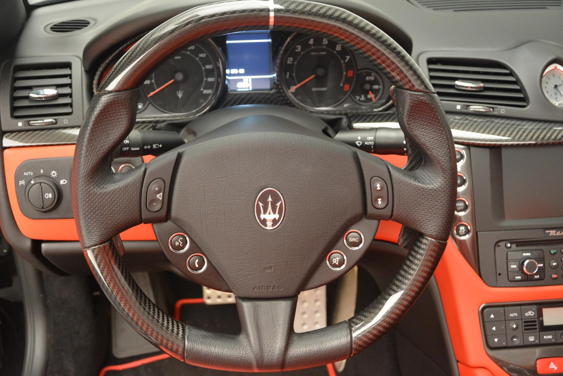 Used 2013 Maserati GranTurismo MC For Sale In Greenwich, CT 521_p30