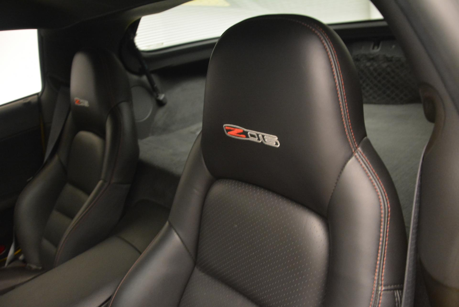 Used 2006 Chevrolet Corvette Z06 Hardtop For Sale In Greenwich, CT 530_p14