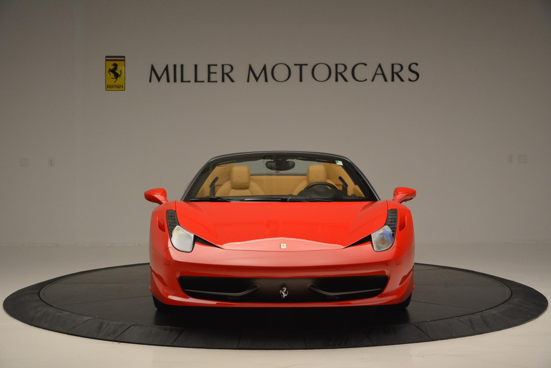 Used 2013 Ferrari 458 Spider  For Sale In Greenwich, CT 537_p12