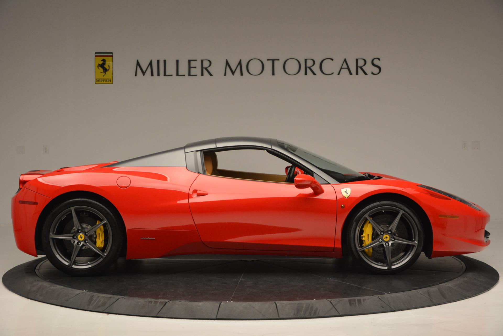 Used 2013 Ferrari 458 Spider  For Sale In Greenwich, CT 537_p21