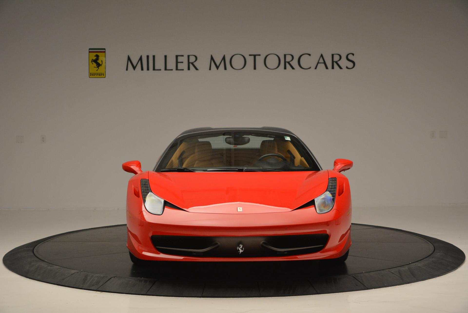 Used 2013 Ferrari 458 Spider  For Sale In Greenwich, CT 537_p24
