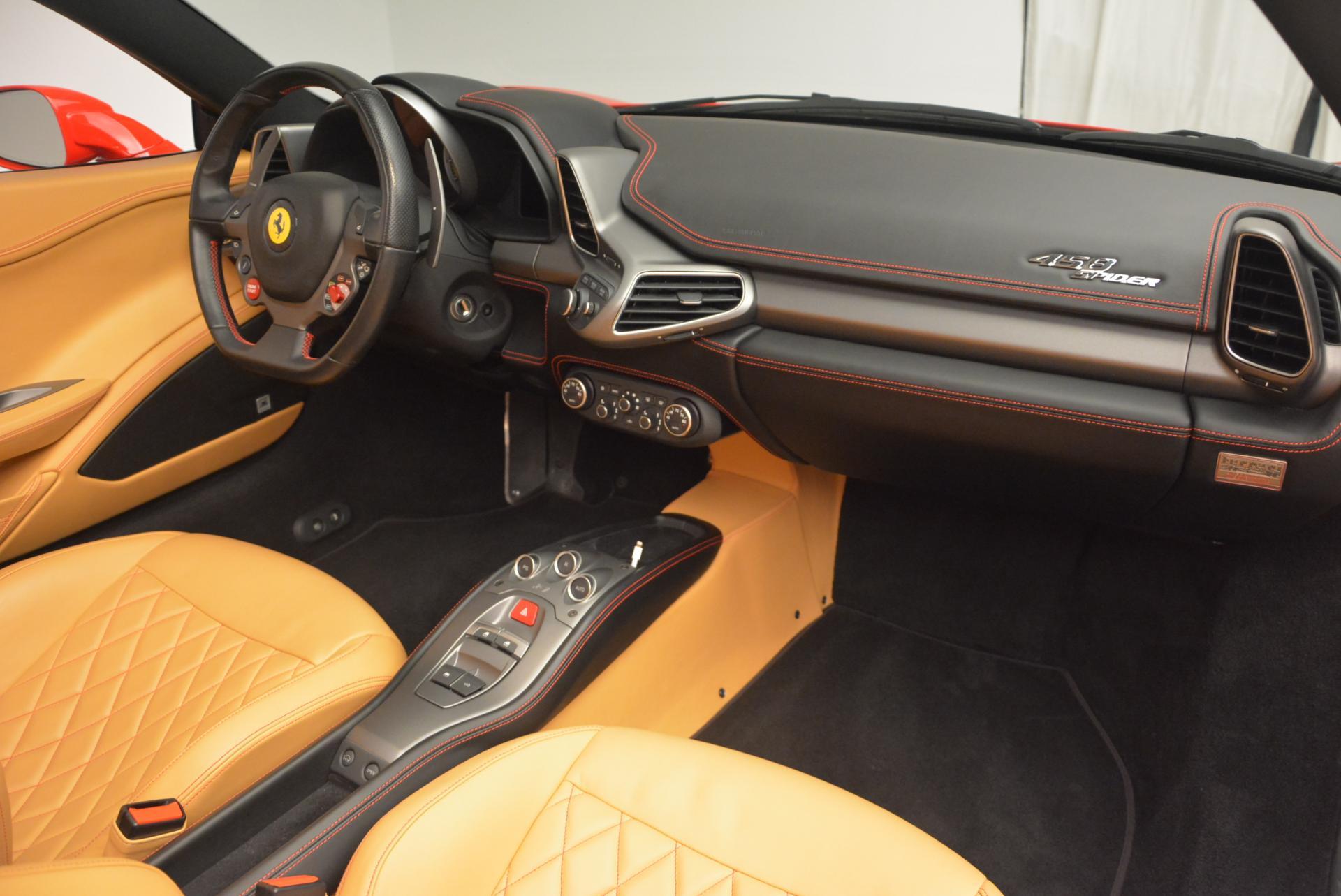 Used 2013 Ferrari 458 Spider  For Sale In Greenwich, CT 537_p29