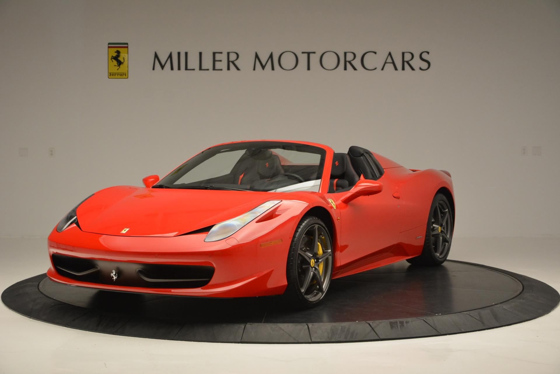 Used 2015 Ferrari 458 Spider  For Sale In Greenwich, CT 542_main