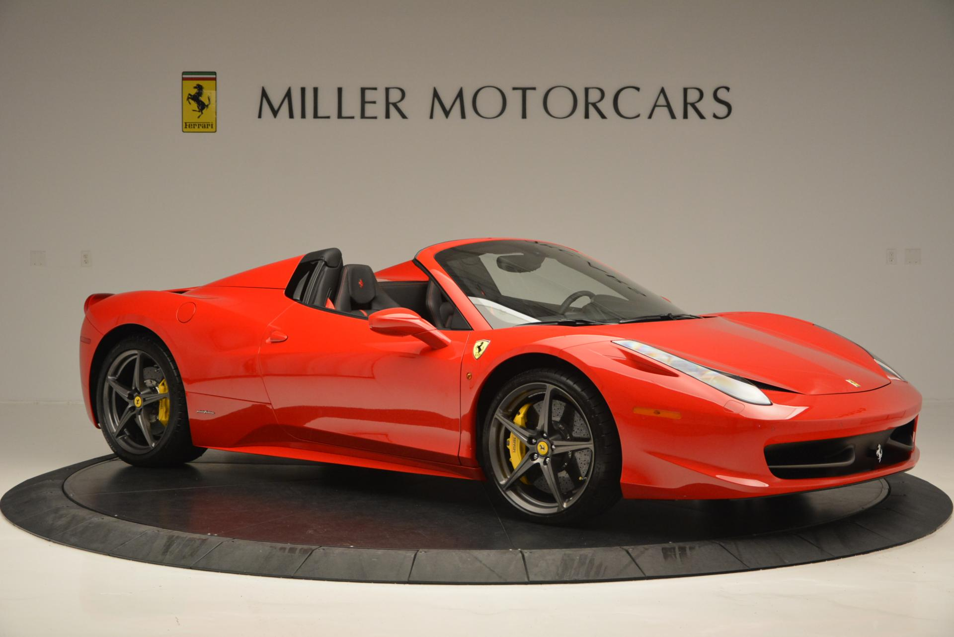 Used 2015 Ferrari 458 Spider  For Sale In Greenwich, CT 542_p10