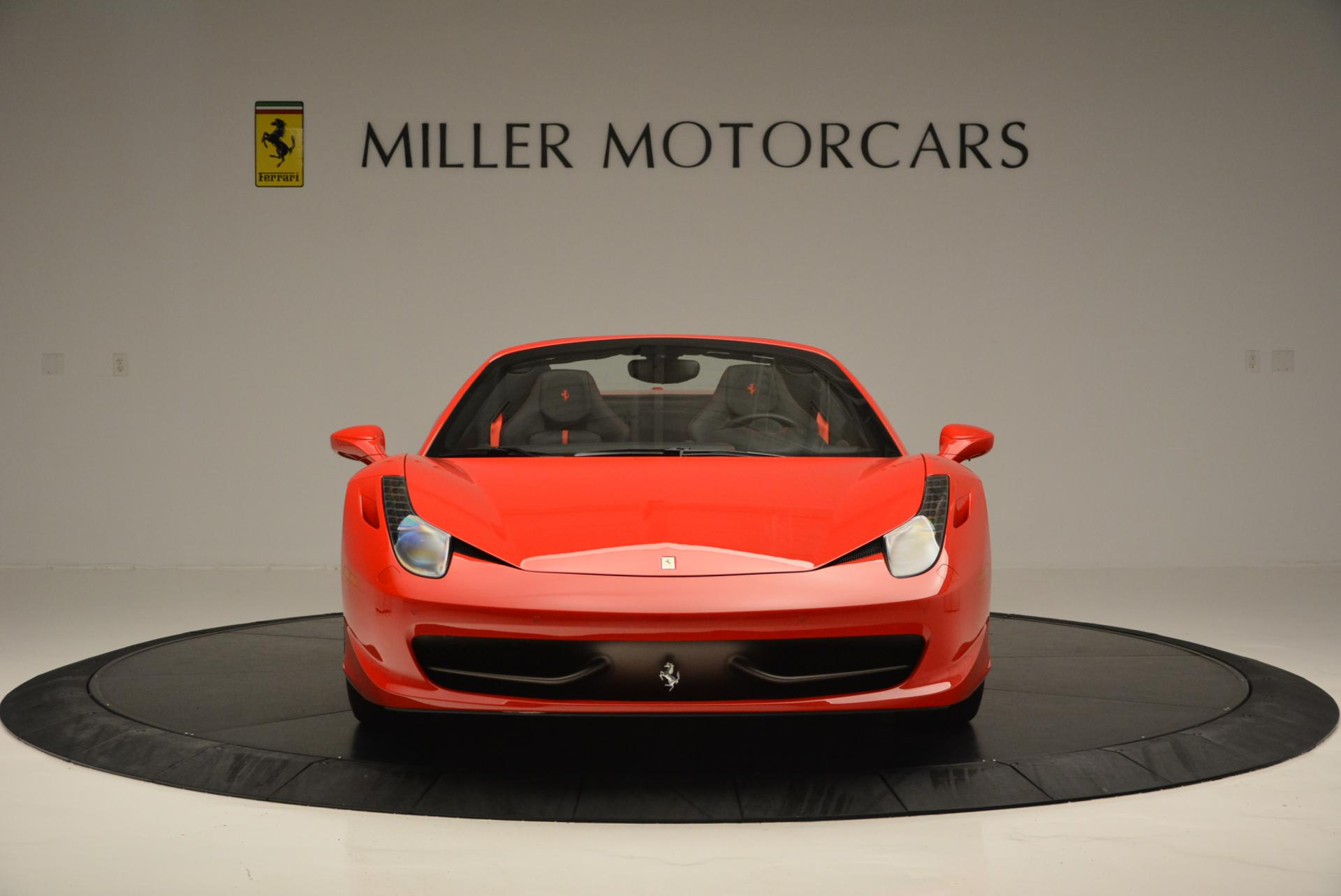 Used 2015 Ferrari 458 Spider  For Sale In Greenwich, CT 542_p12