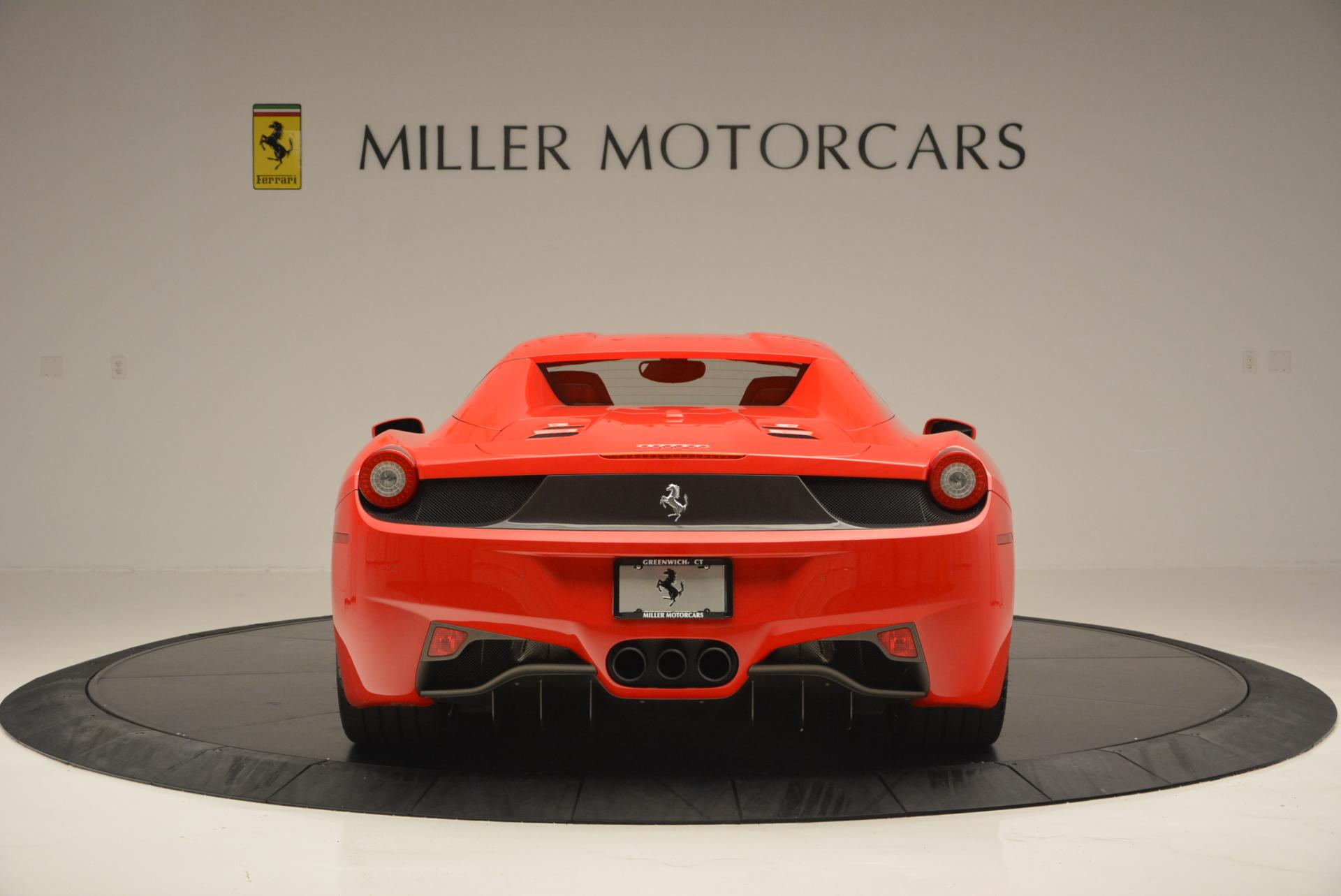 Used 2015 Ferrari 458 Spider  For Sale In Greenwich, CT 542_p18