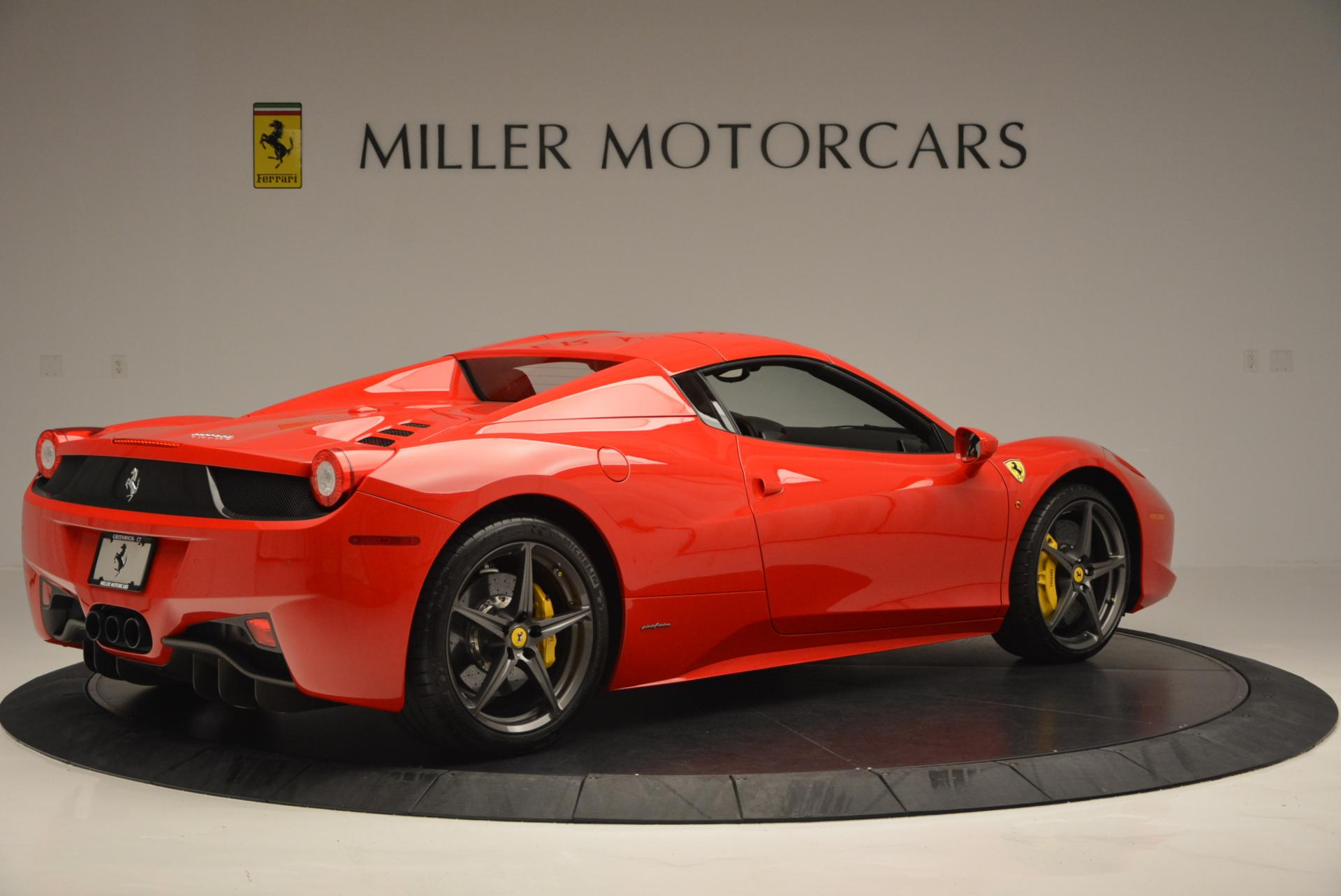 Used 2015 Ferrari 458 Spider  For Sale In Greenwich, CT 542_p20