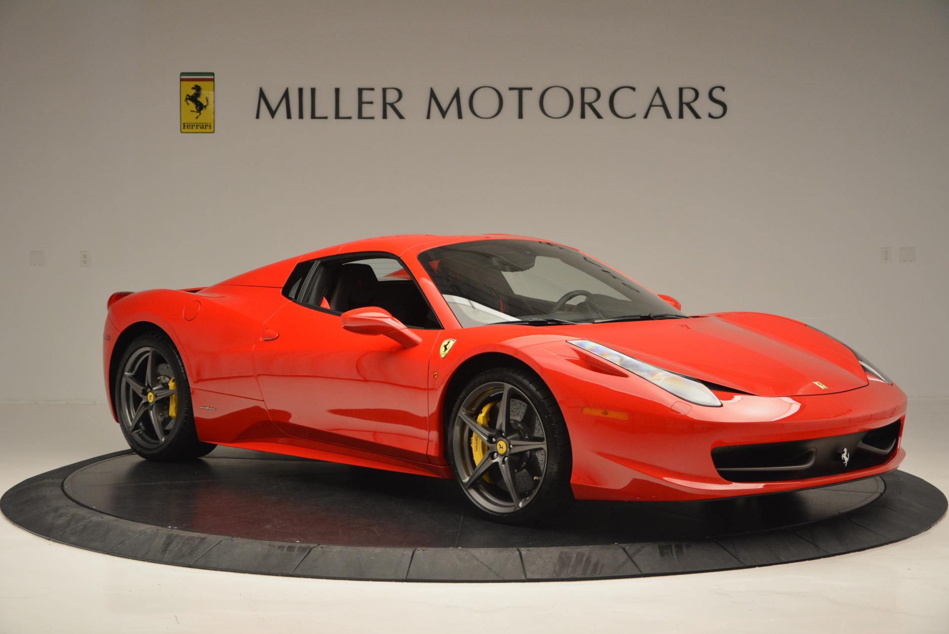 Used 2015 Ferrari 458 Spider  For Sale In Greenwich, CT 542_p22