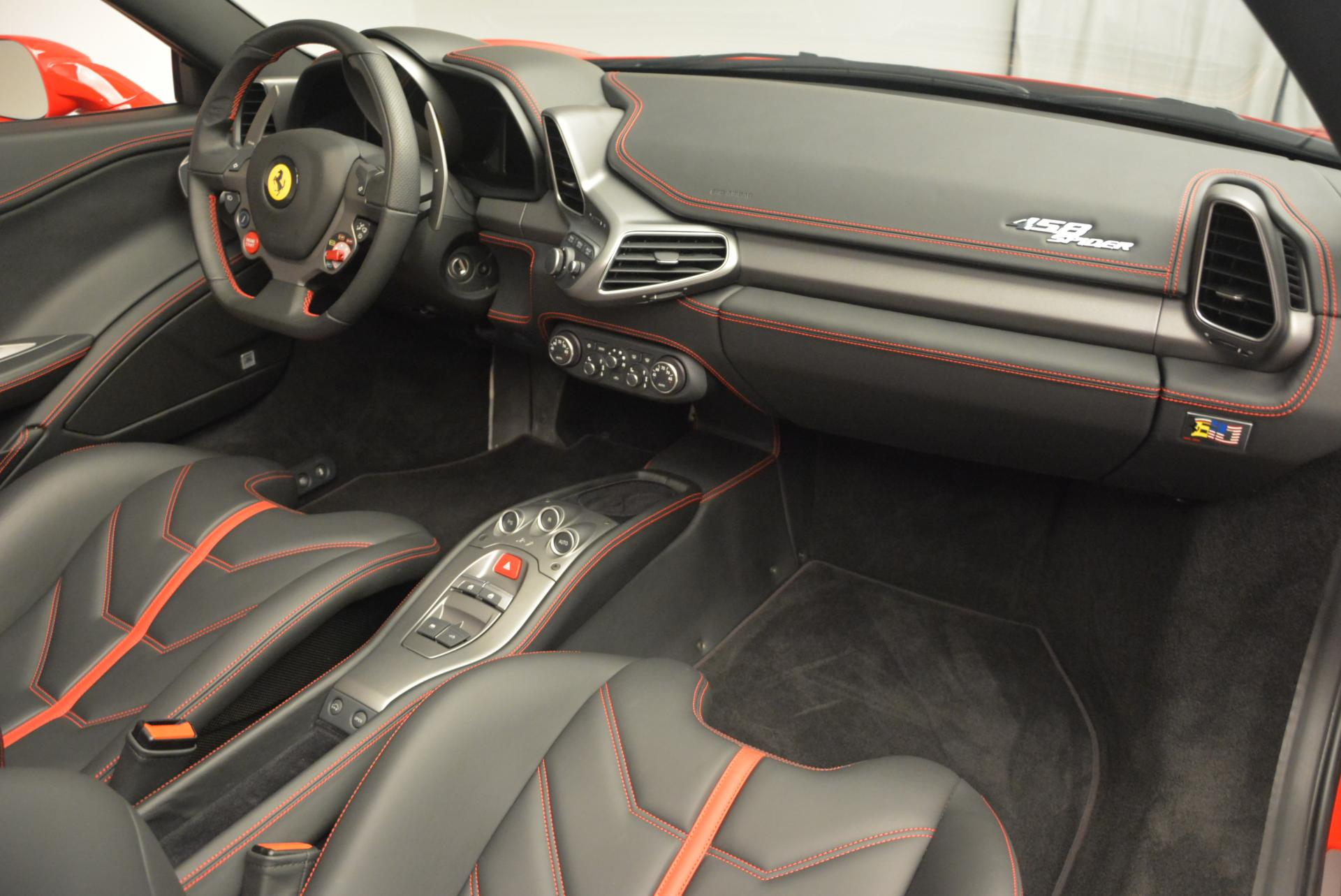Used 2015 Ferrari 458 Spider  For Sale In Greenwich, CT 542_p28