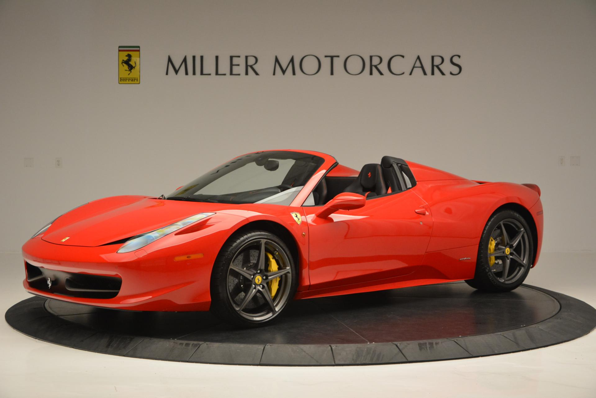 Used 2015 Ferrari 458 Spider  For Sale In Greenwich, CT 542_p2