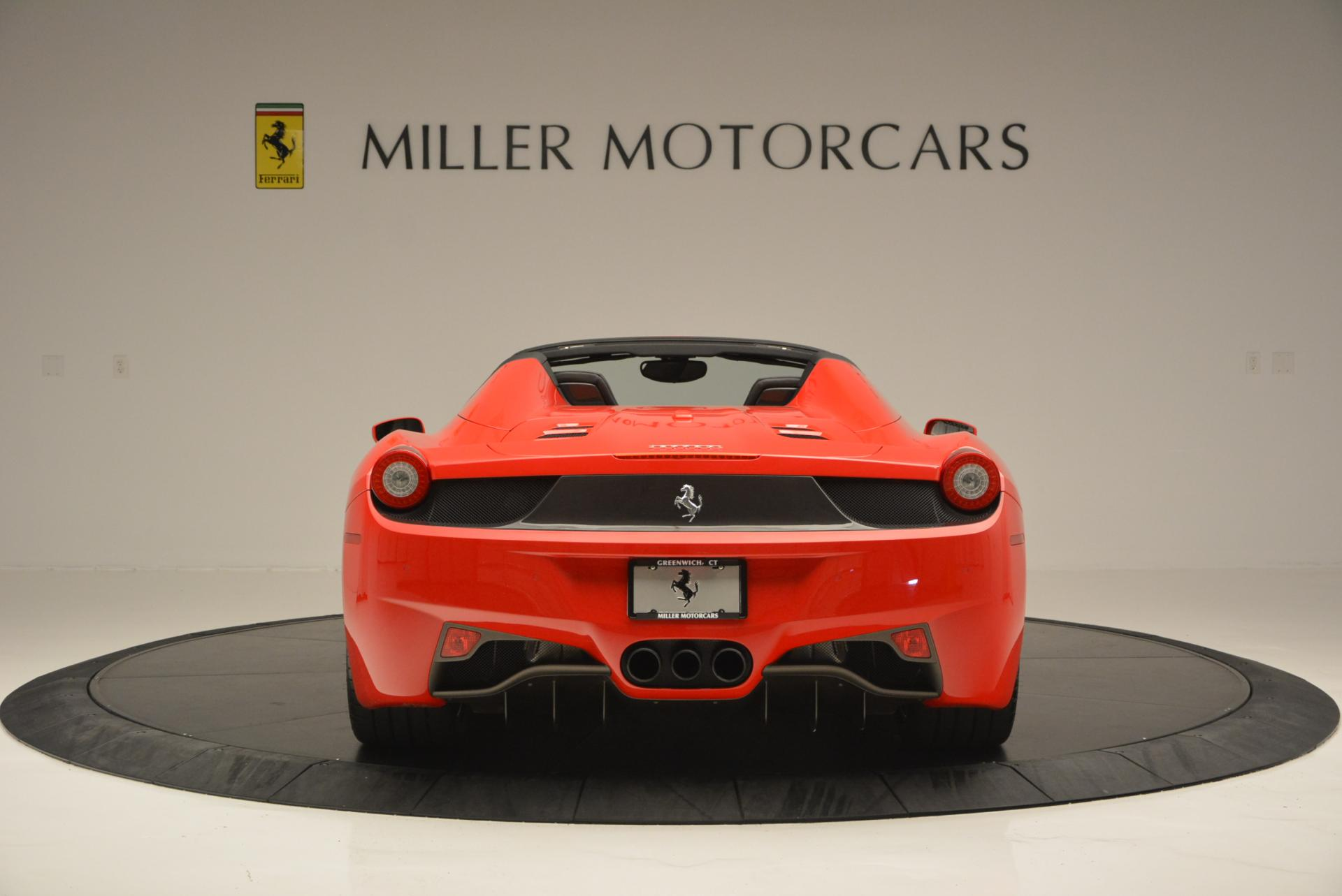 Used 2015 Ferrari 458 Spider  For Sale In Greenwich, CT 542_p6