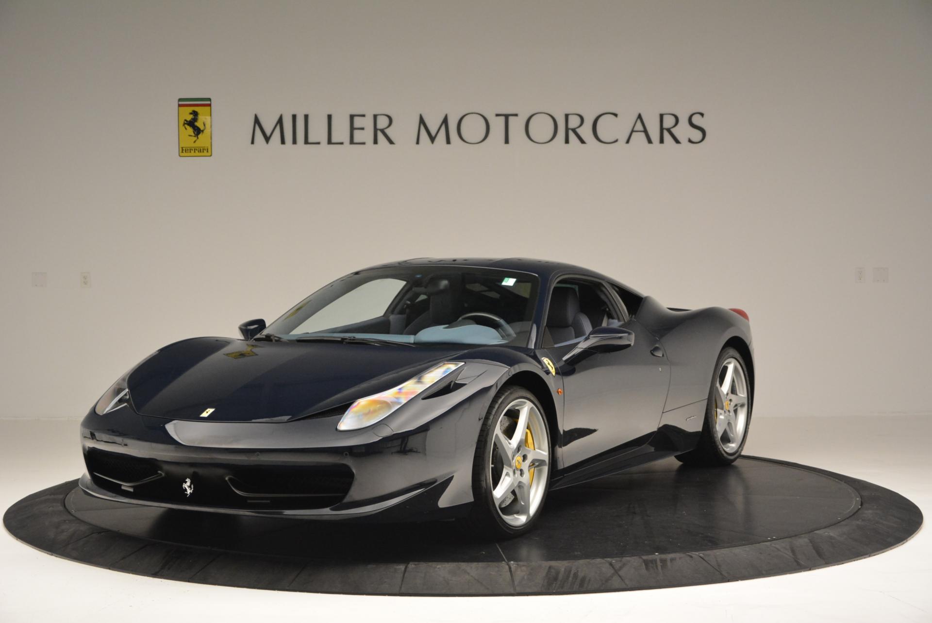 Used 2012 Ferrari 458 Italia  For Sale In Greenwich, CT 550_main