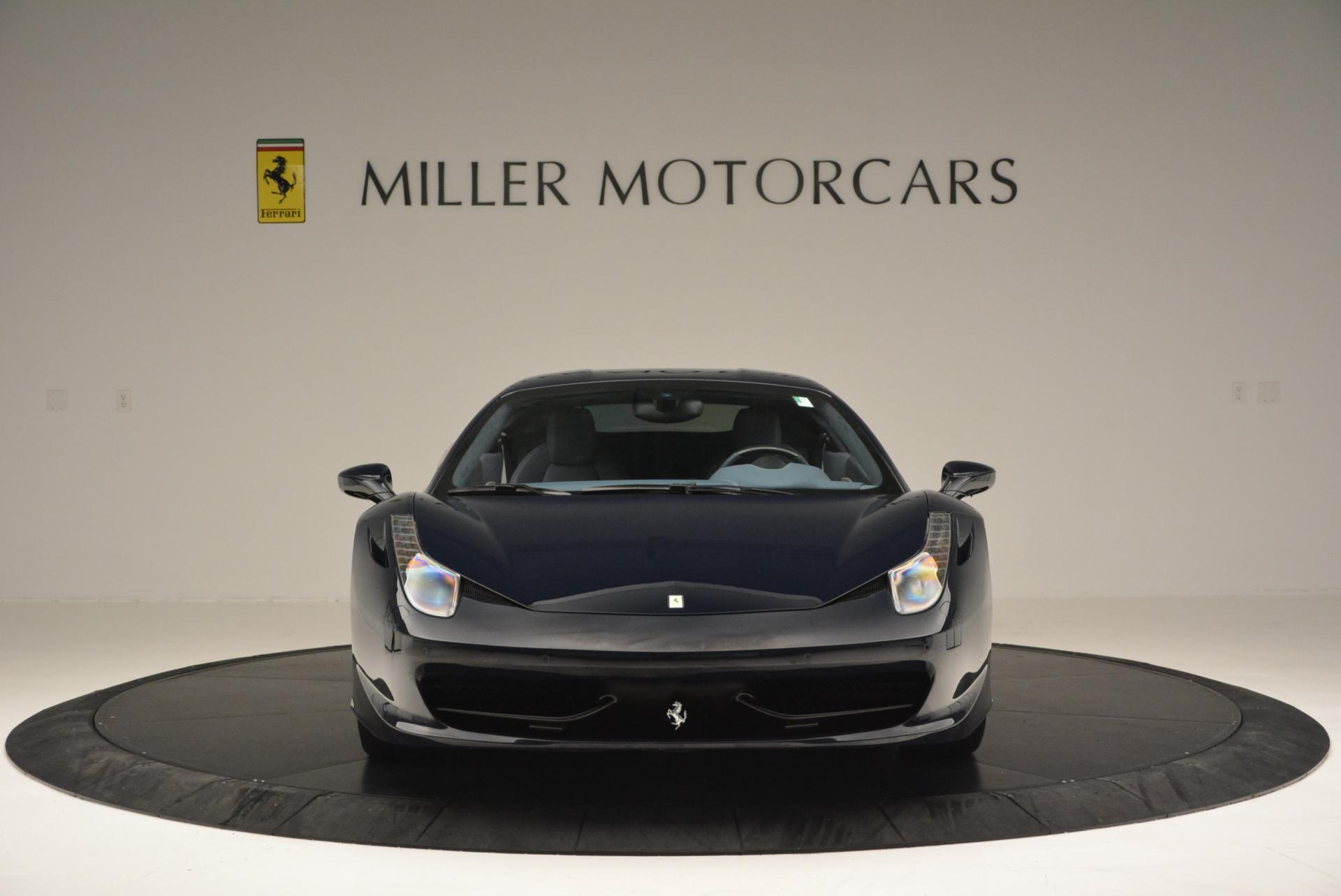 Used 2012 Ferrari 458 Italia  For Sale In Greenwich, CT 550_p12