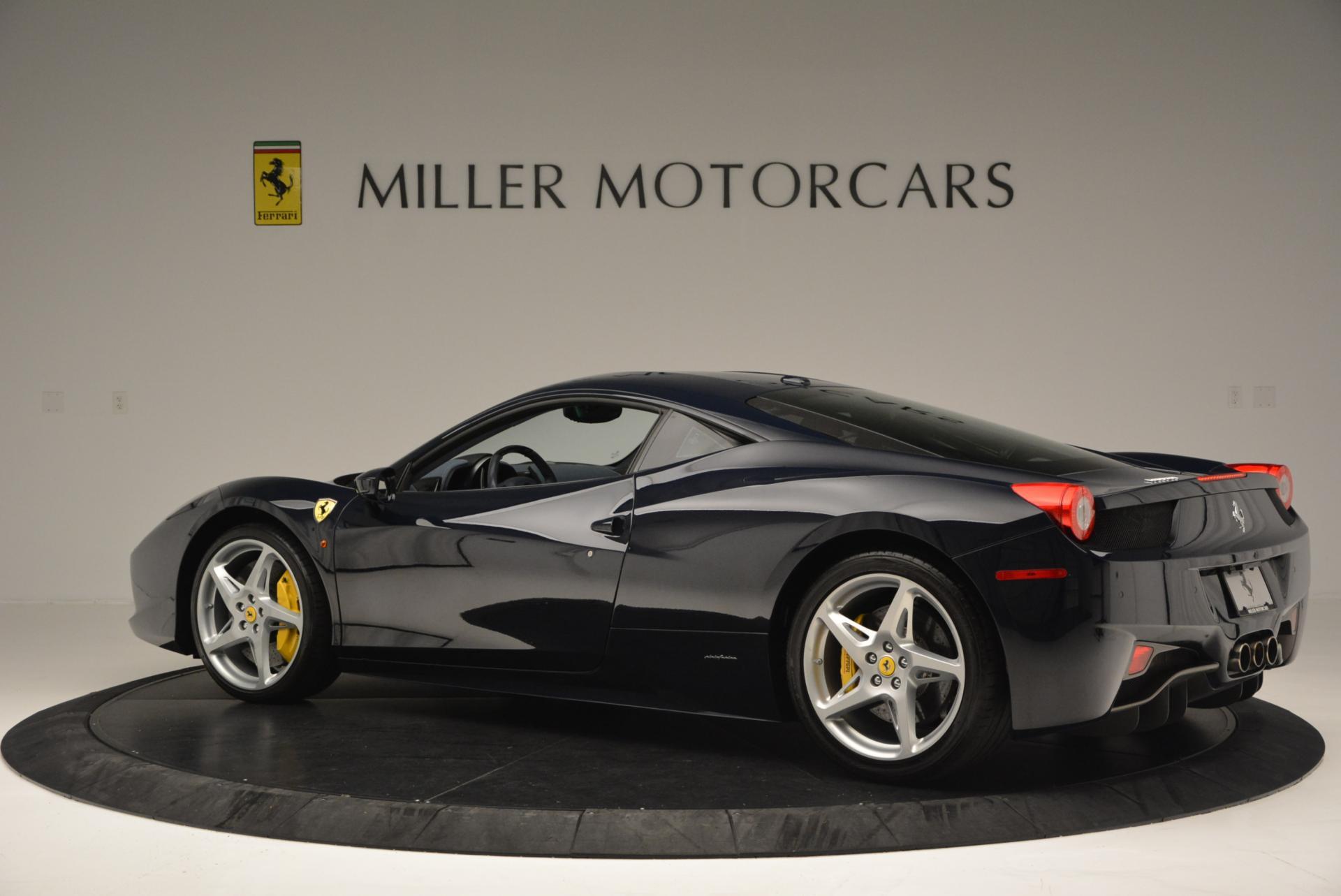 Used 2012 Ferrari 458 Italia  For Sale In Greenwich, CT 550_p4