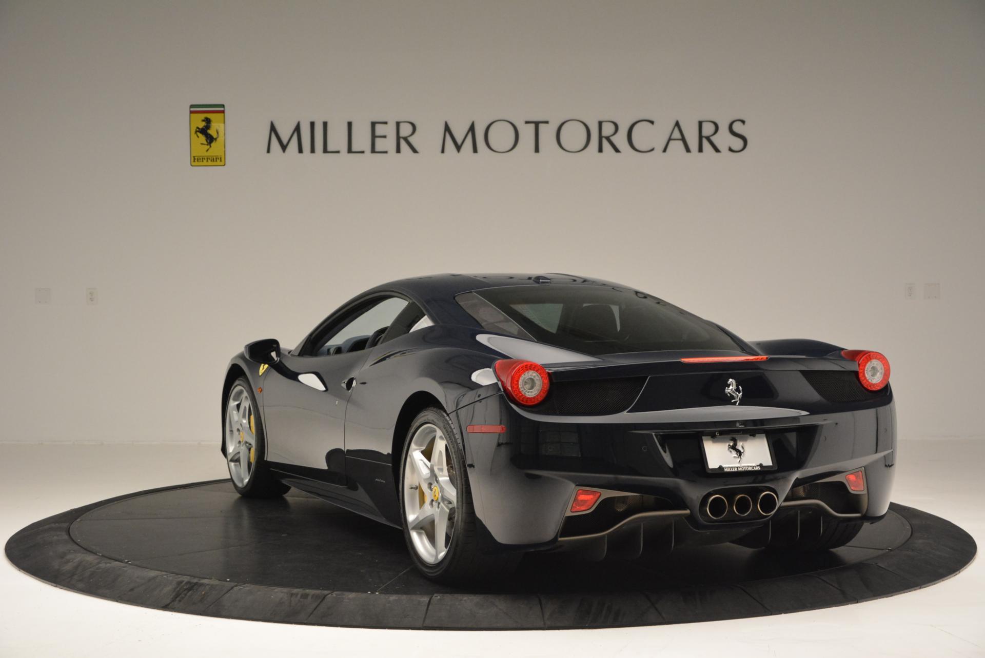 Used 2012 Ferrari 458 Italia  For Sale In Greenwich, CT 550_p5