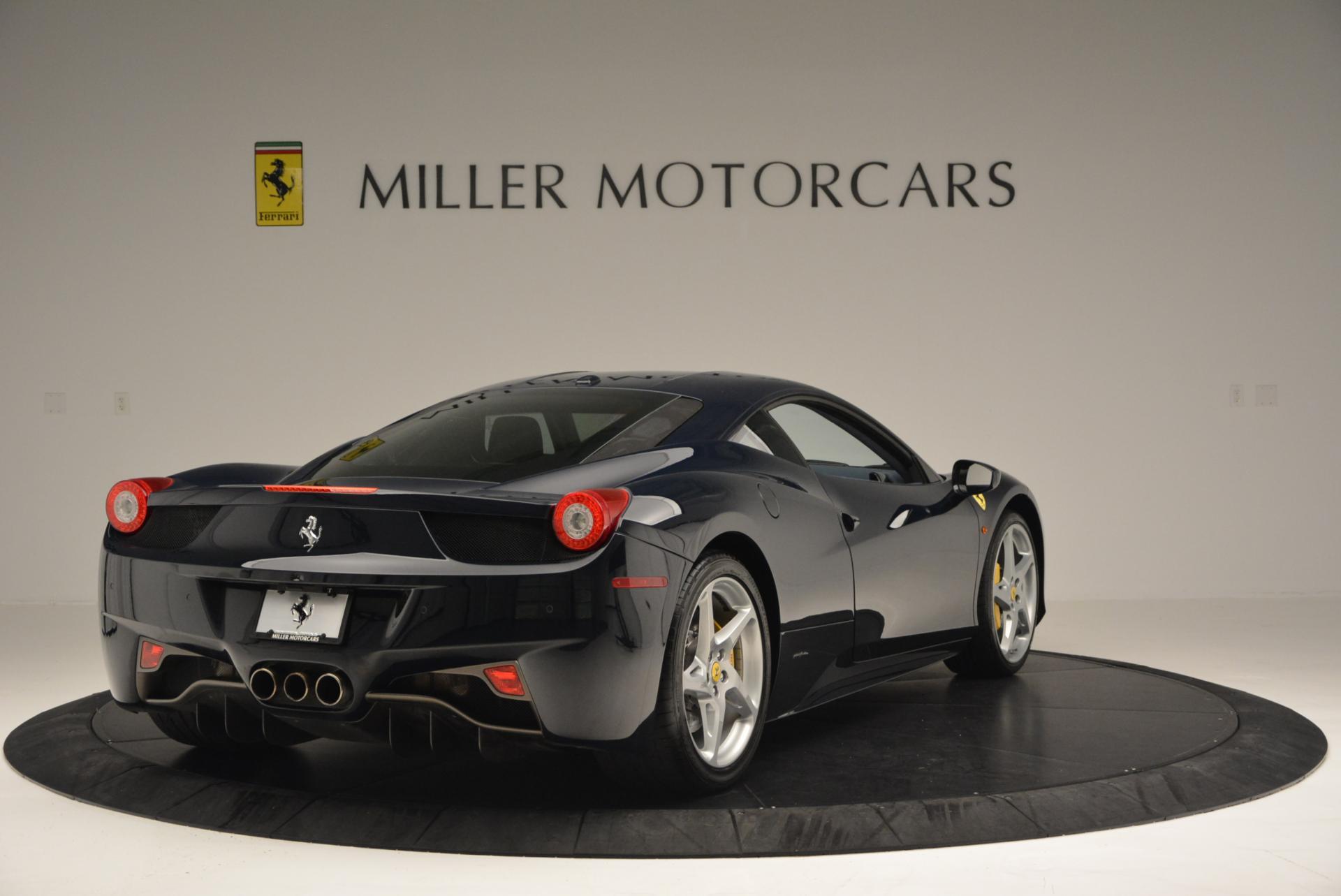 Used 2012 Ferrari 458 Italia  For Sale In Greenwich, CT 550_p7
